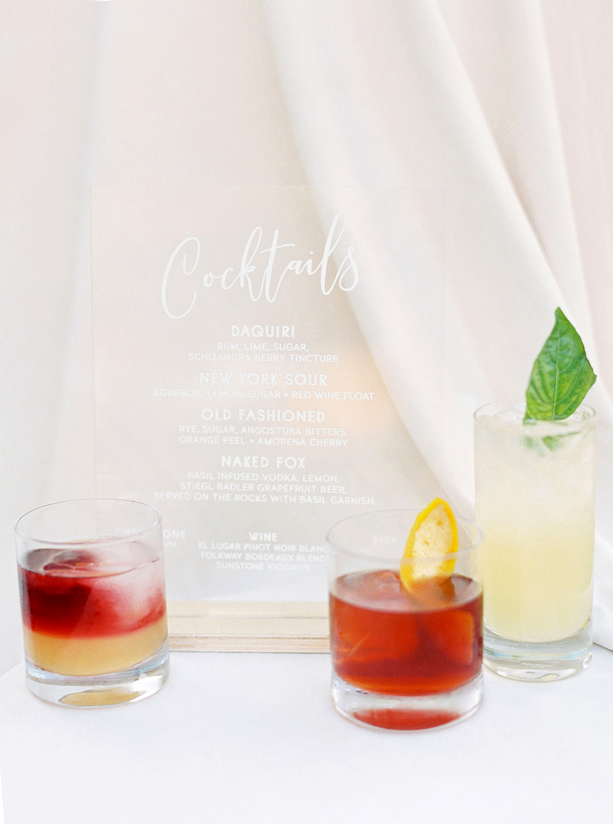 Celebratory Wedding Cocktail Options for Couples Who Don't Want to Serve Champagne