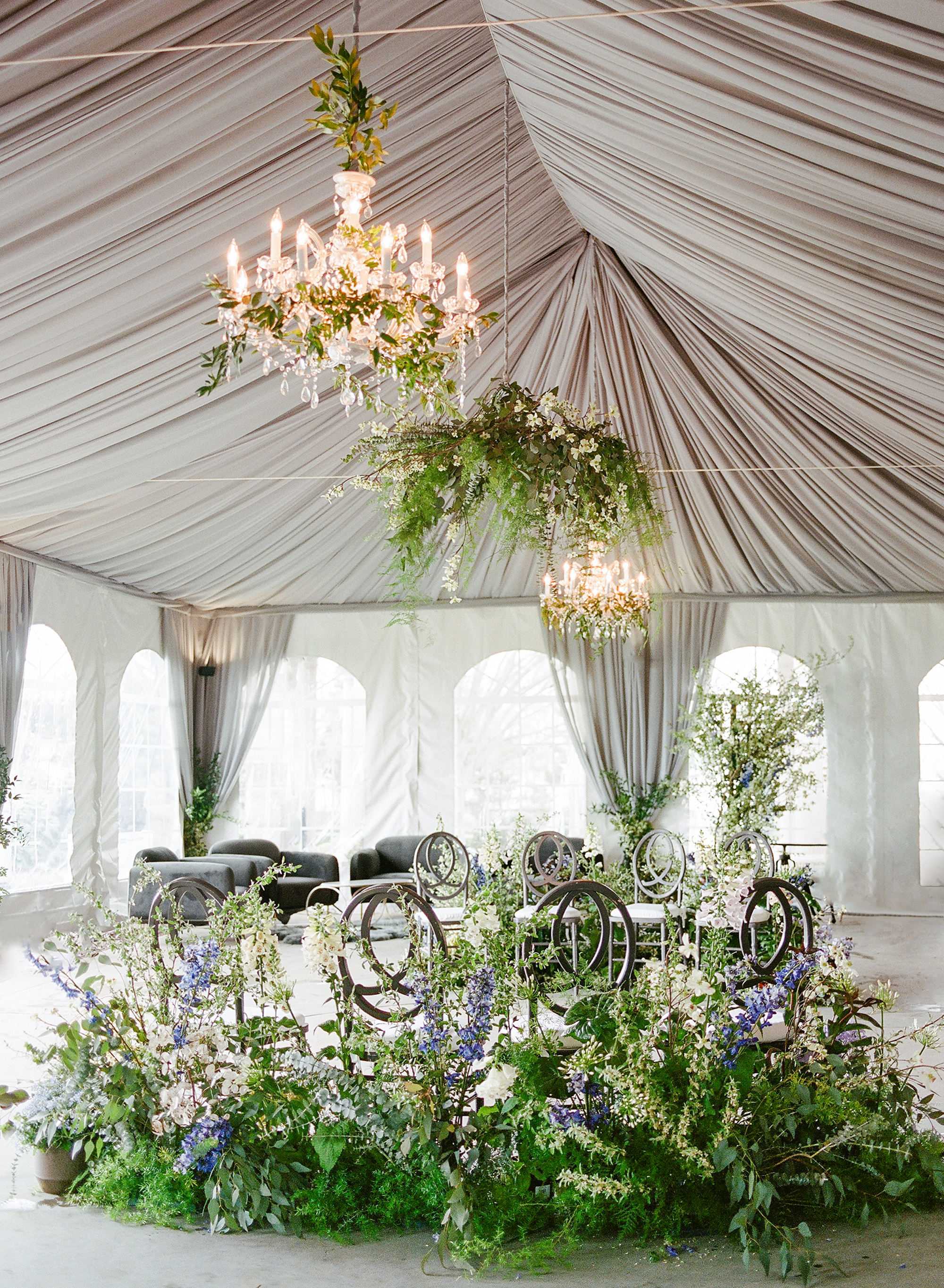 An Intimate, Monet-Inspired Wedding at a Connecticut Manor