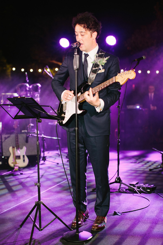wedding groom guitar
