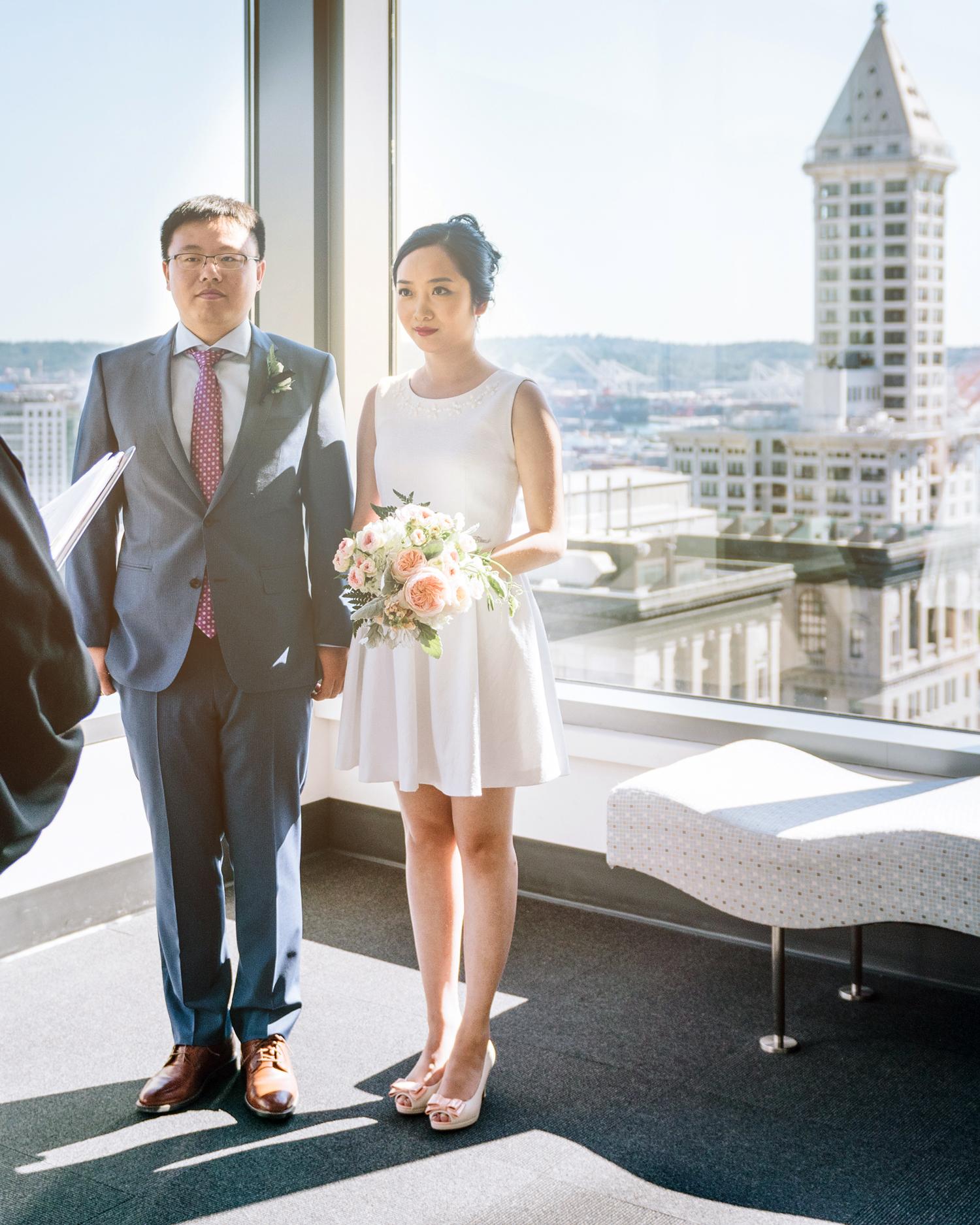 city hall wedding ceremony in seattle city hall