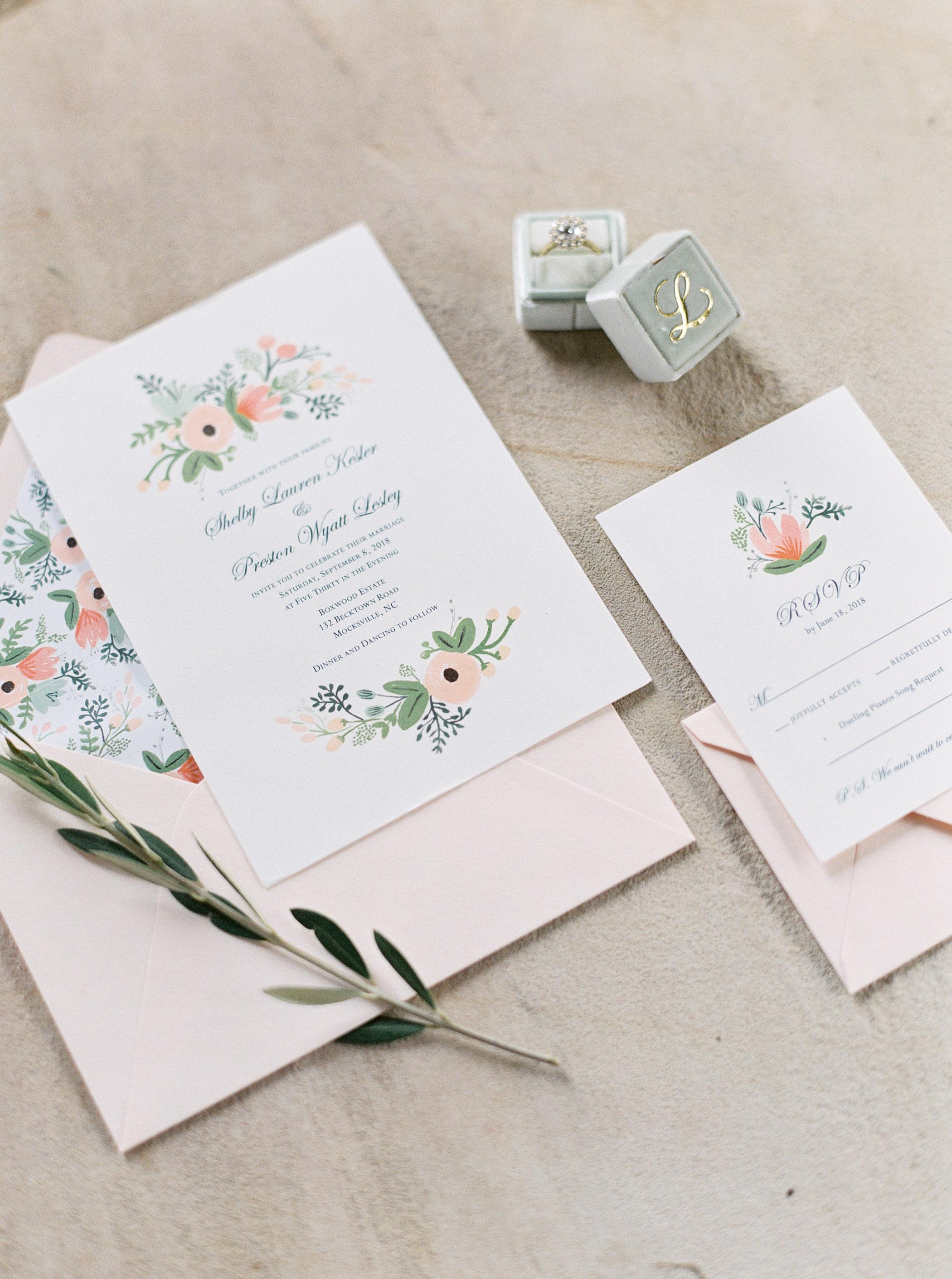 shelby preston wedding invites