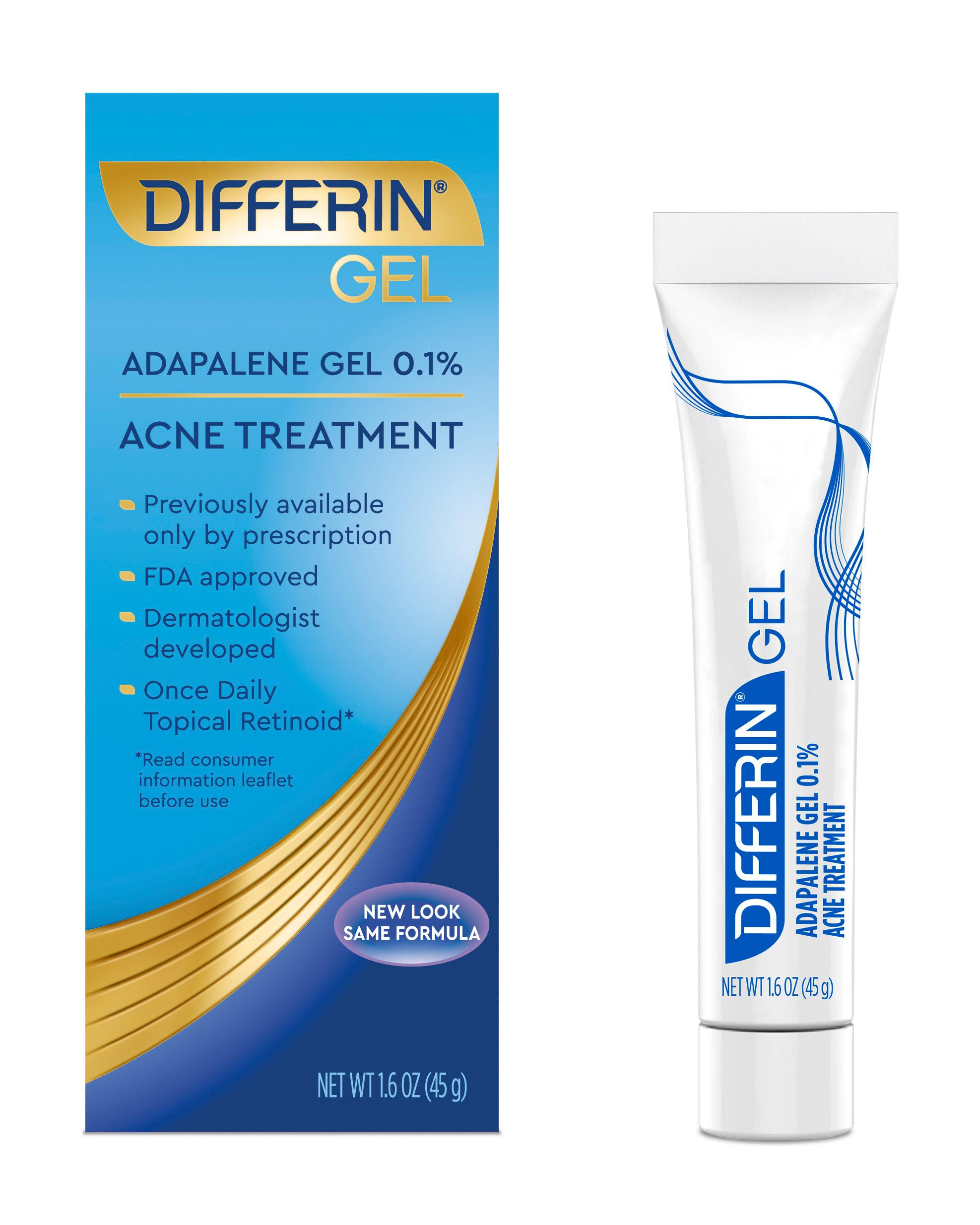Differin Acne Treatment Gel