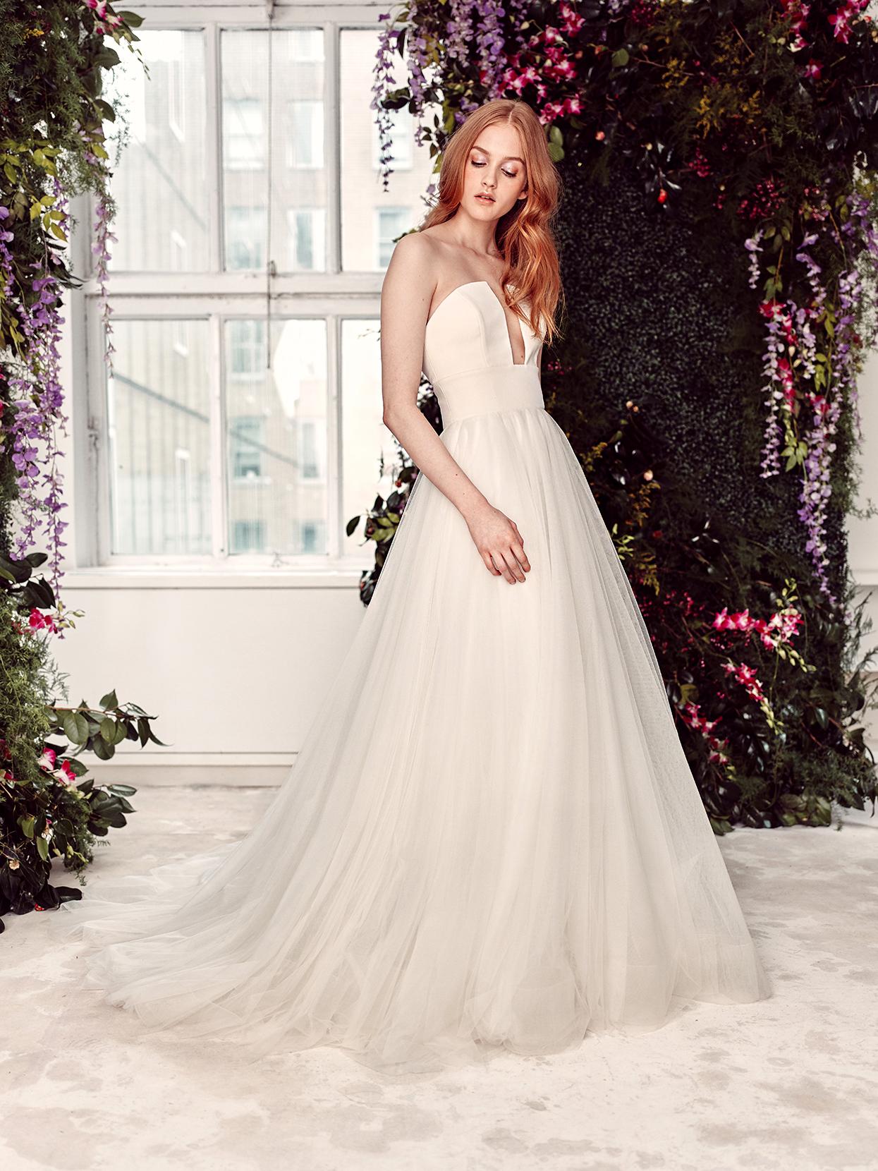 alyne by rita vinieris strapless bust cut-out wedding dress spring 2020
