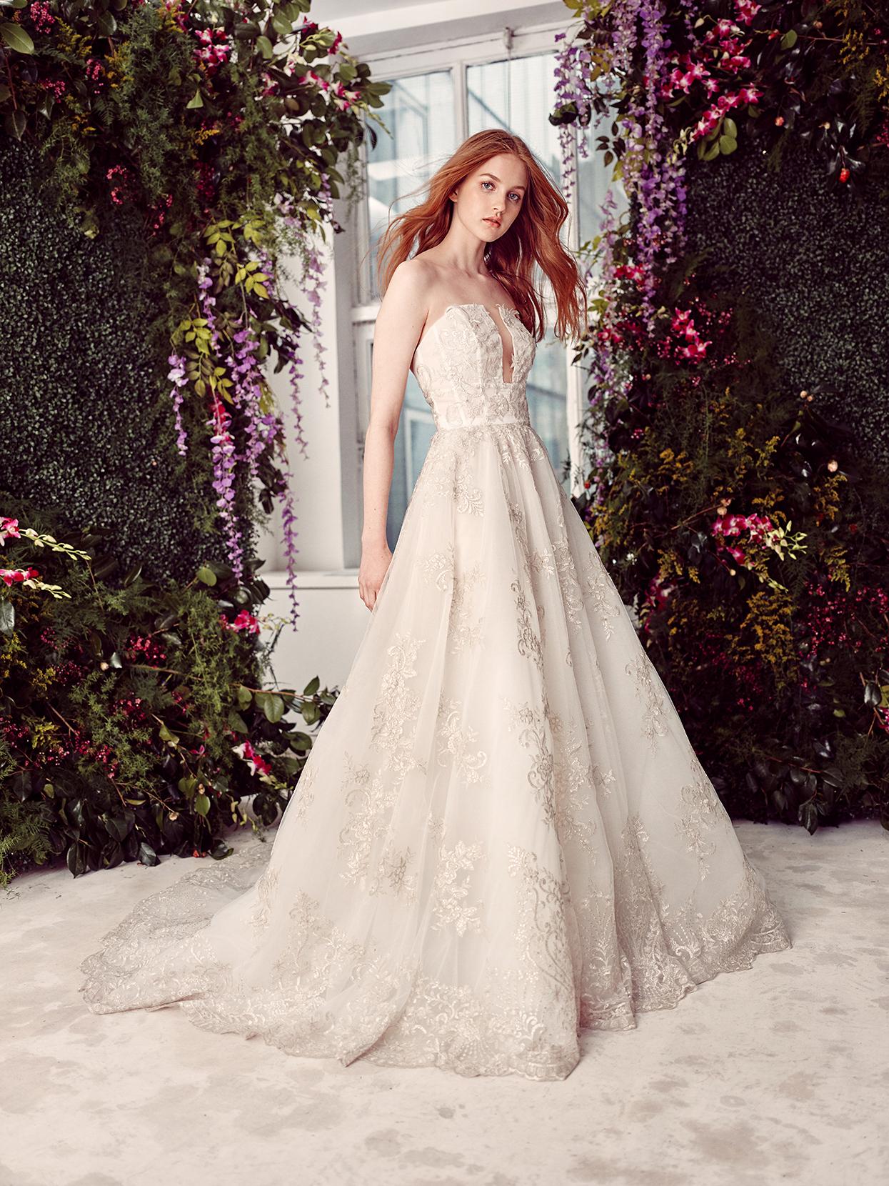 alyne by rita vinieris strapless a-line wedding dress spring 2020