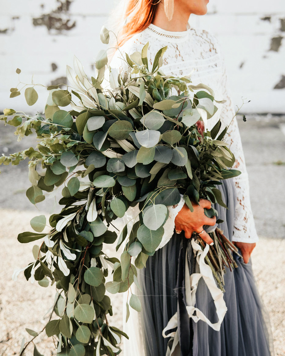 The Most Unique Ways to Use Eucalyptus Throughout Your Wedding