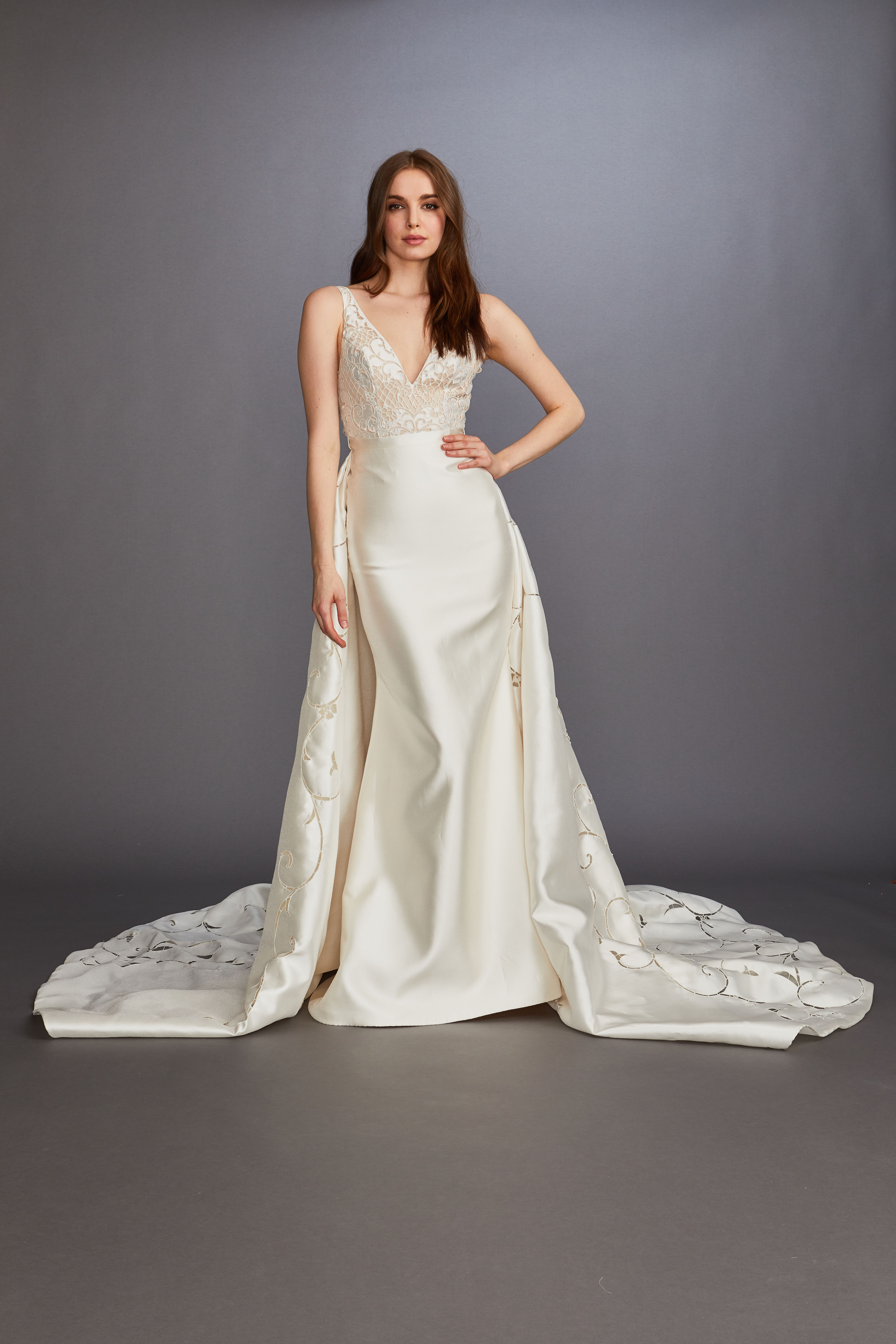 Lazaro Spring 2020 Wedding Dress Collection