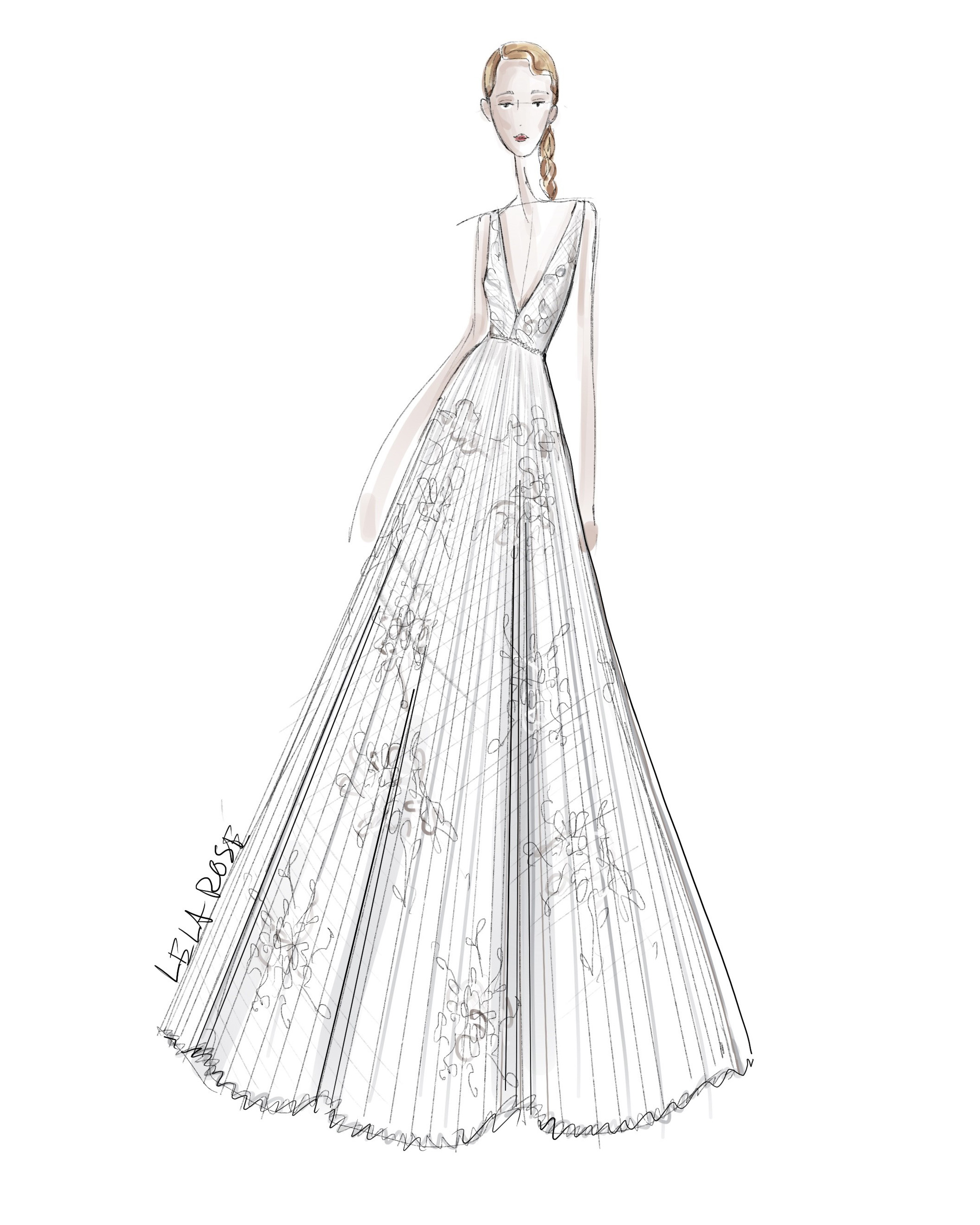 Design A Wedding Dress.Exclusive Get A First Look At The Spring 2020 Bridal