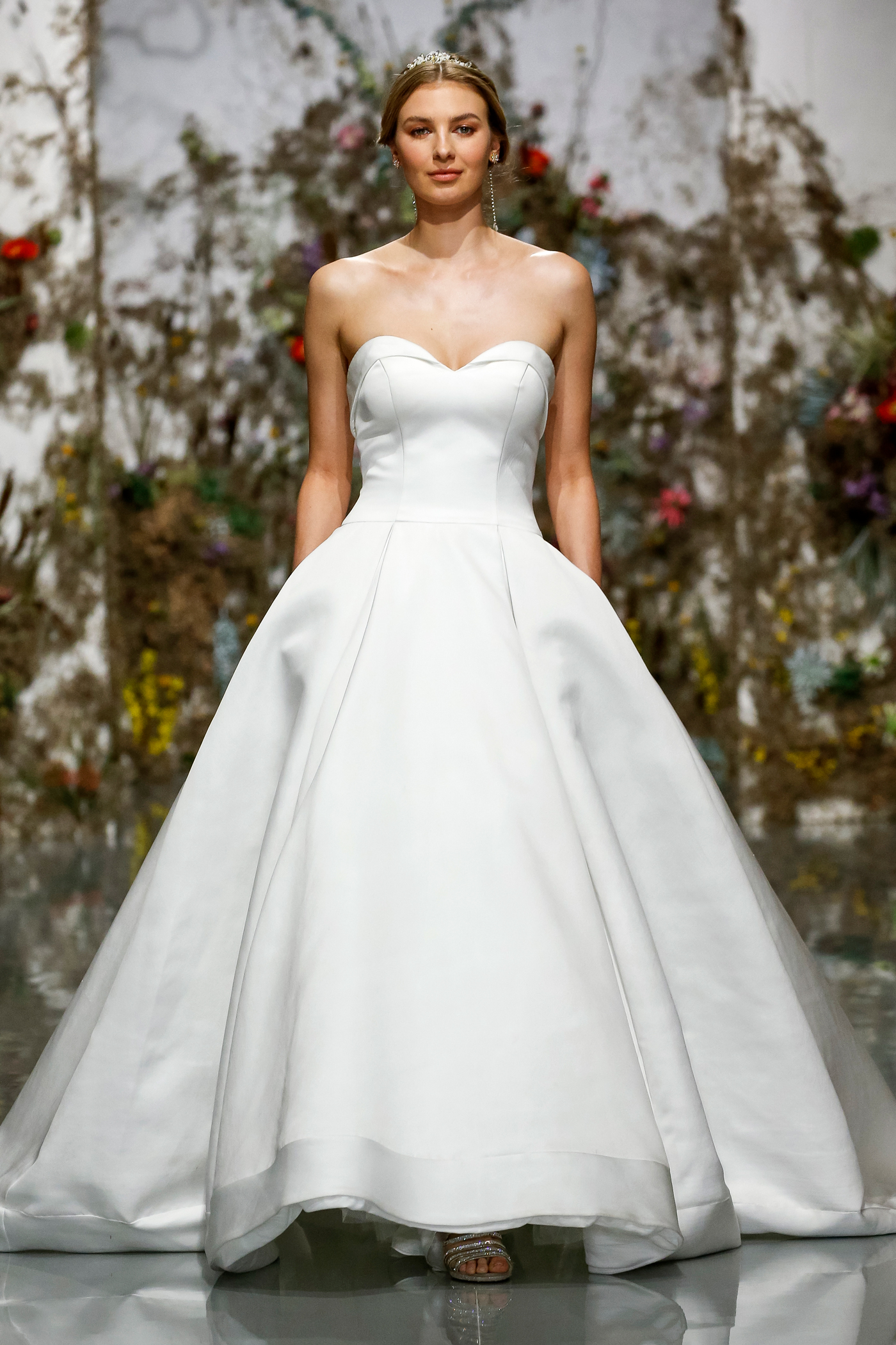 strapless sweetheart ball gown Morilee by Madeline Gardner Spring 2020