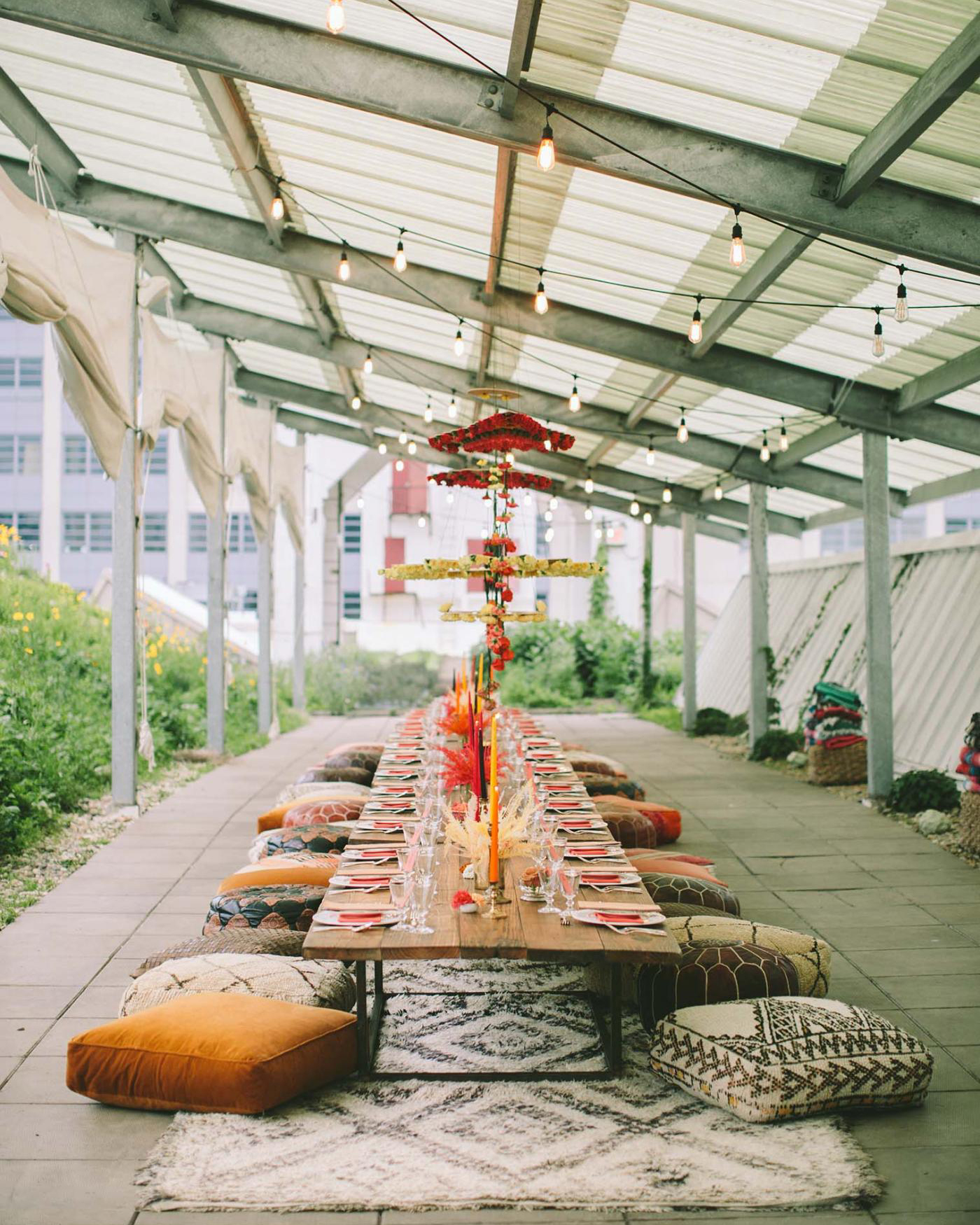 Brooklyn Grange rooftop event space