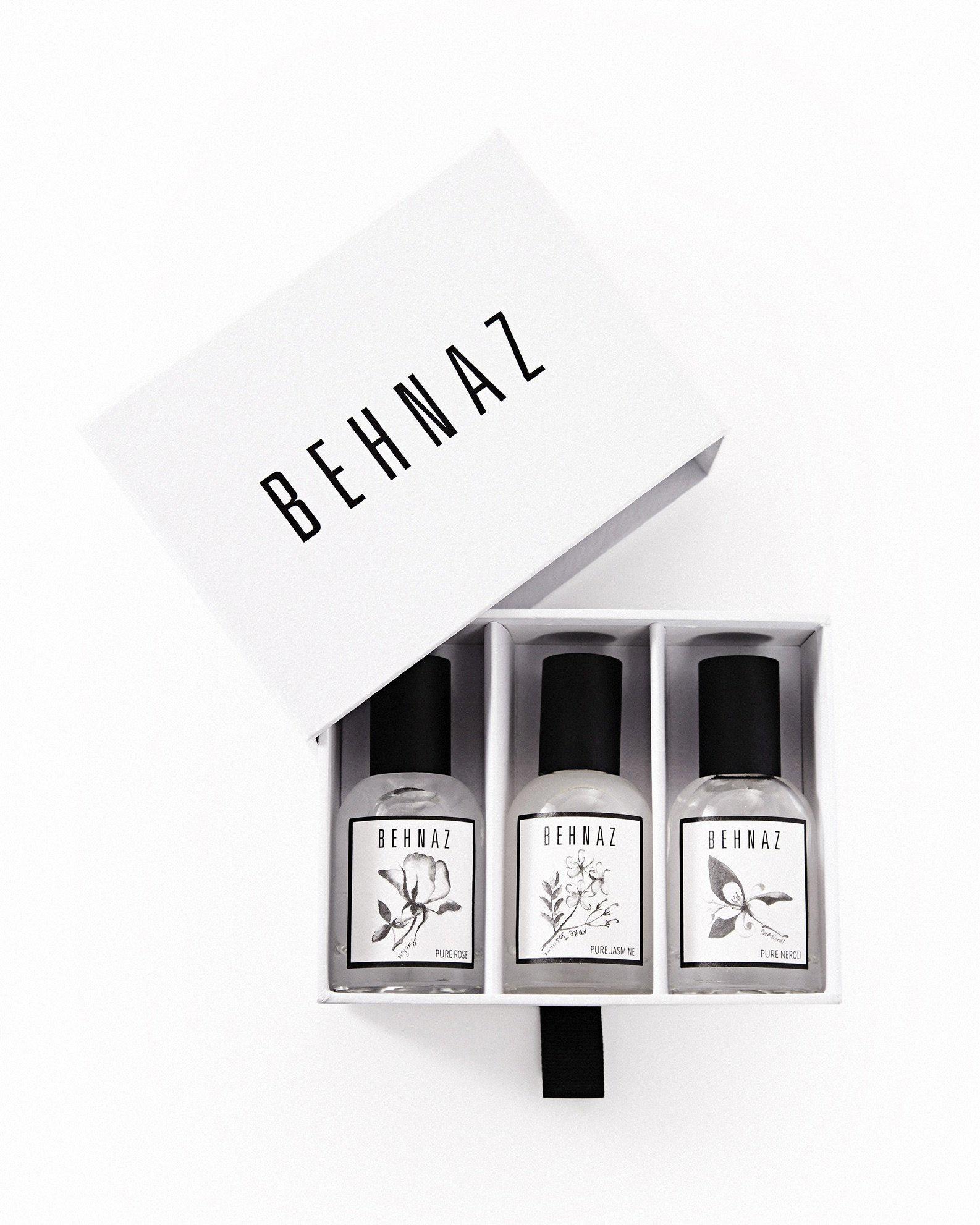 natural fragrance behnaz fragrance flight