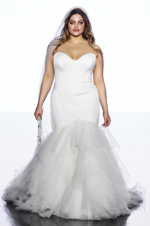 wtoo by watters sweetheart tulle mermaid wedding dress spring 2020