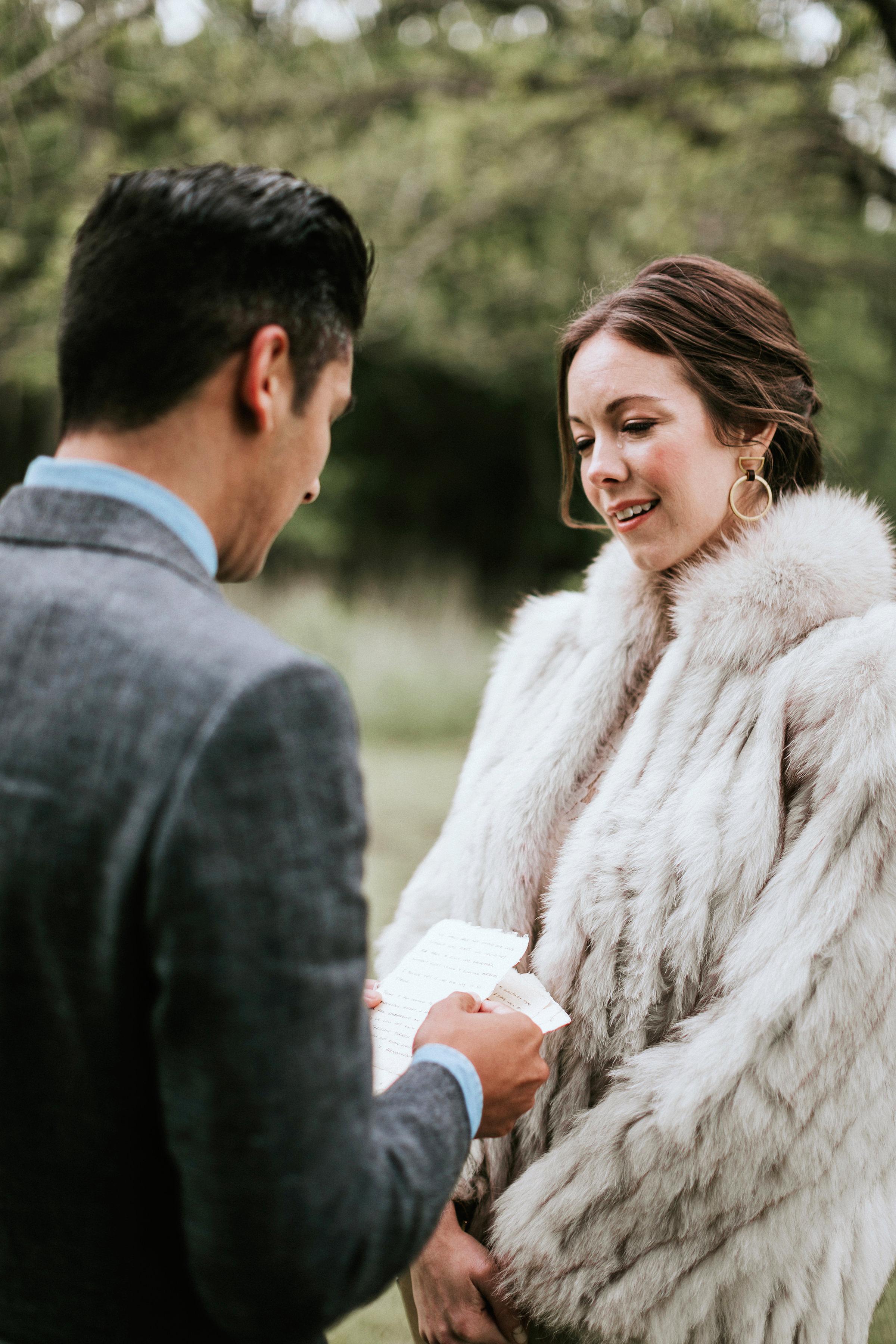 shannon jason wedding couple vows