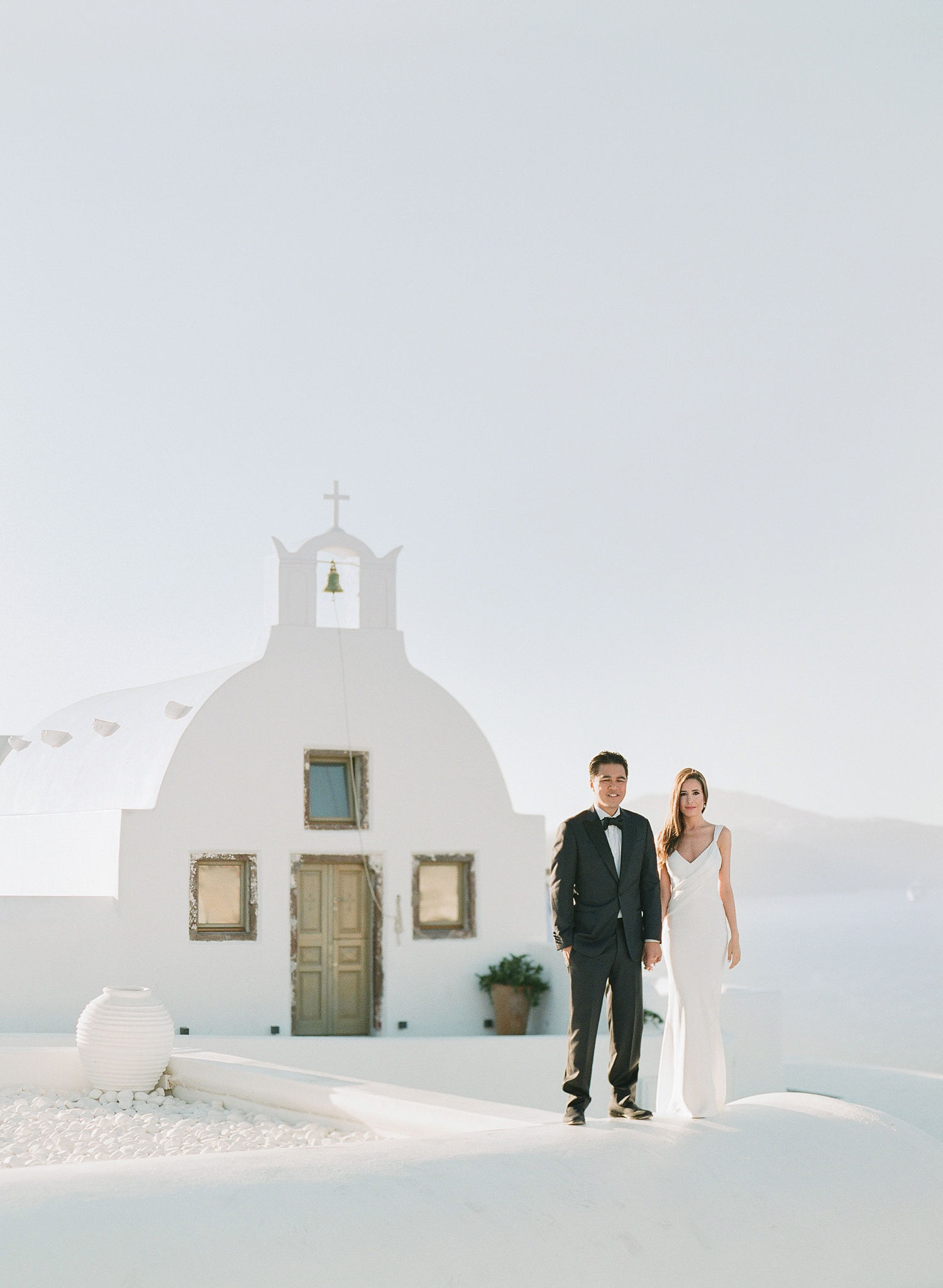 This Couple's Magical Oia Elopement Will Make You Want to Get Married in Santorini