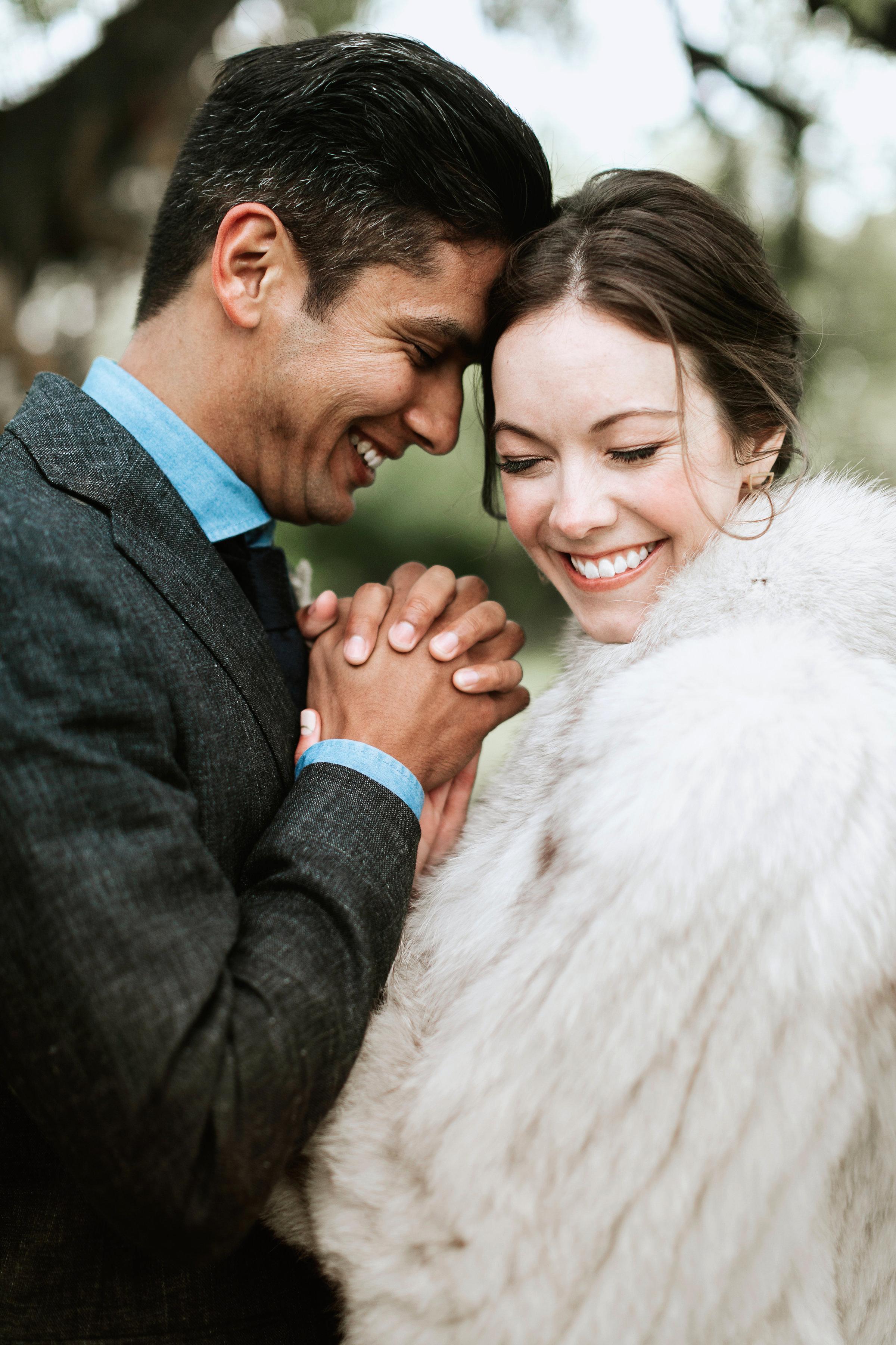 shannon jason wedding bride groom couple holding hands