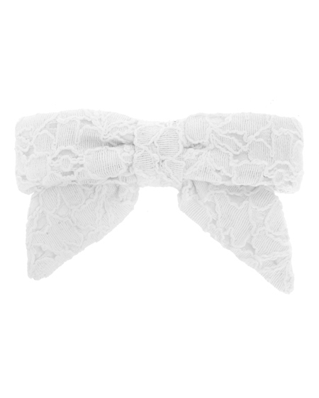 Square Bow Barrette