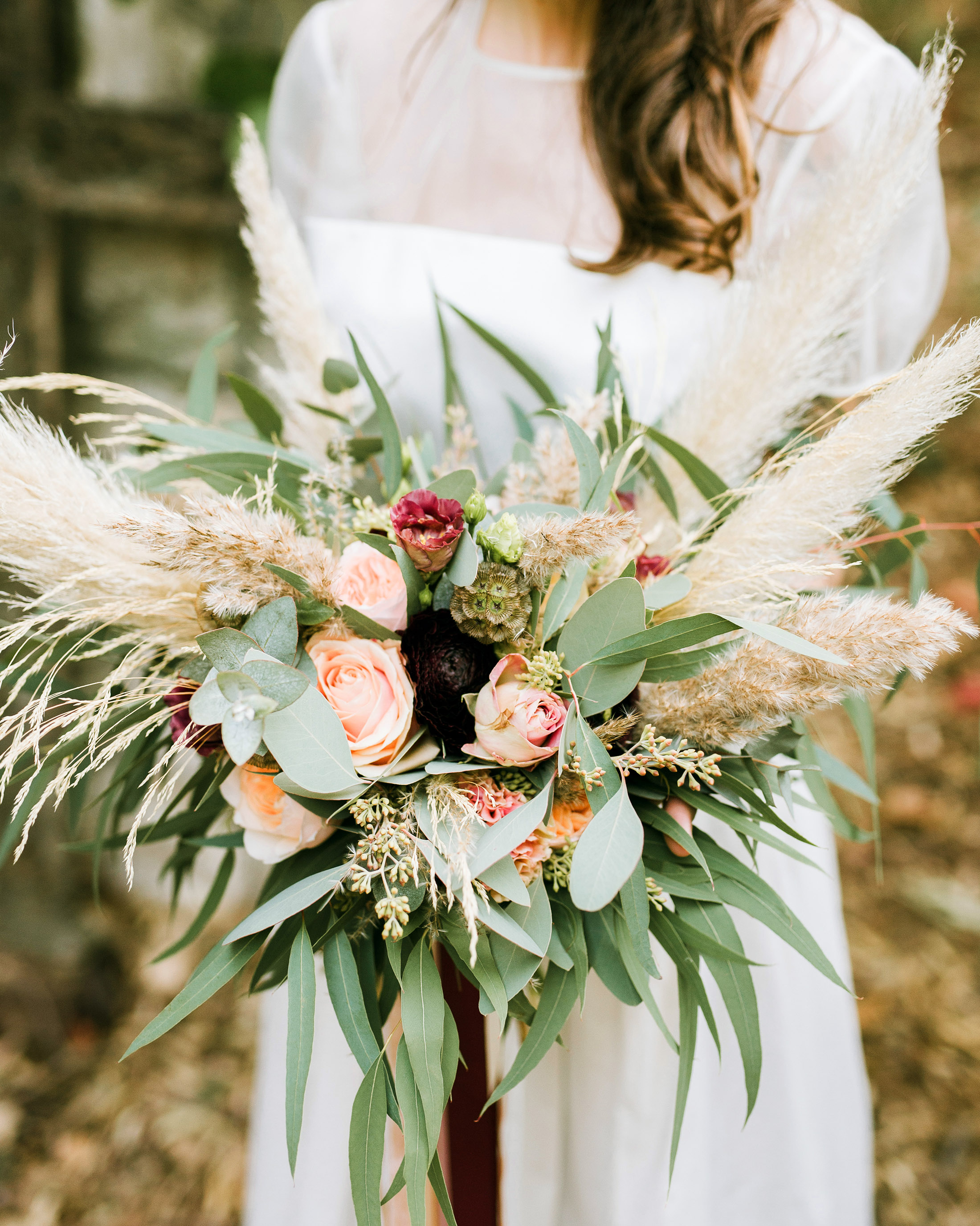 pampas grass ideas ombre complementary colors