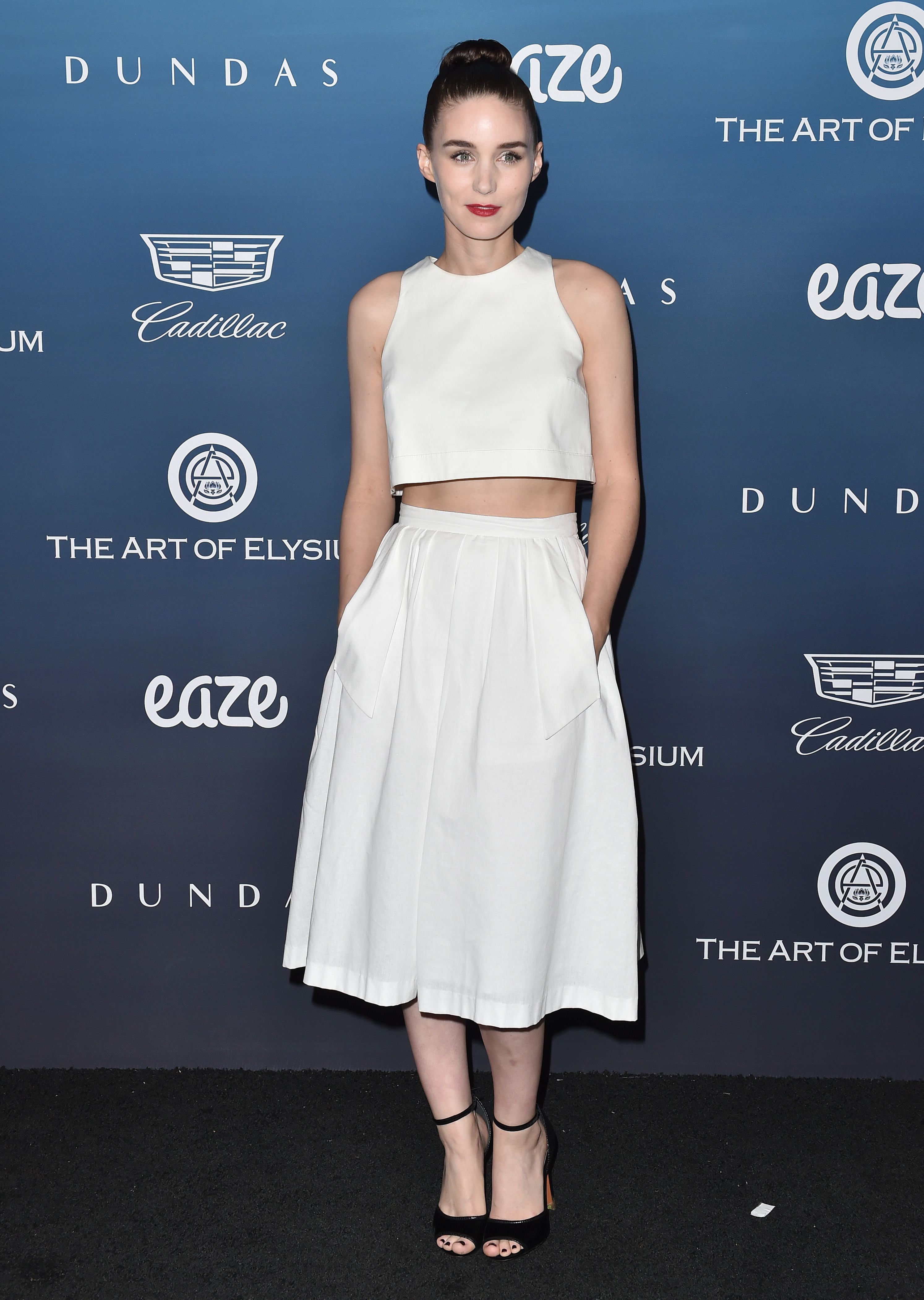 rooney mara at the art of elsyium red carpet