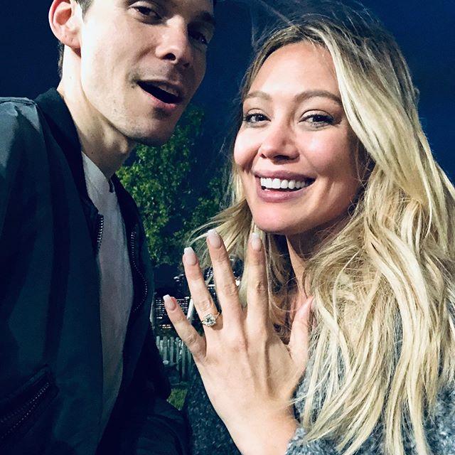 Hilary Duff Matthew Koma Engaged