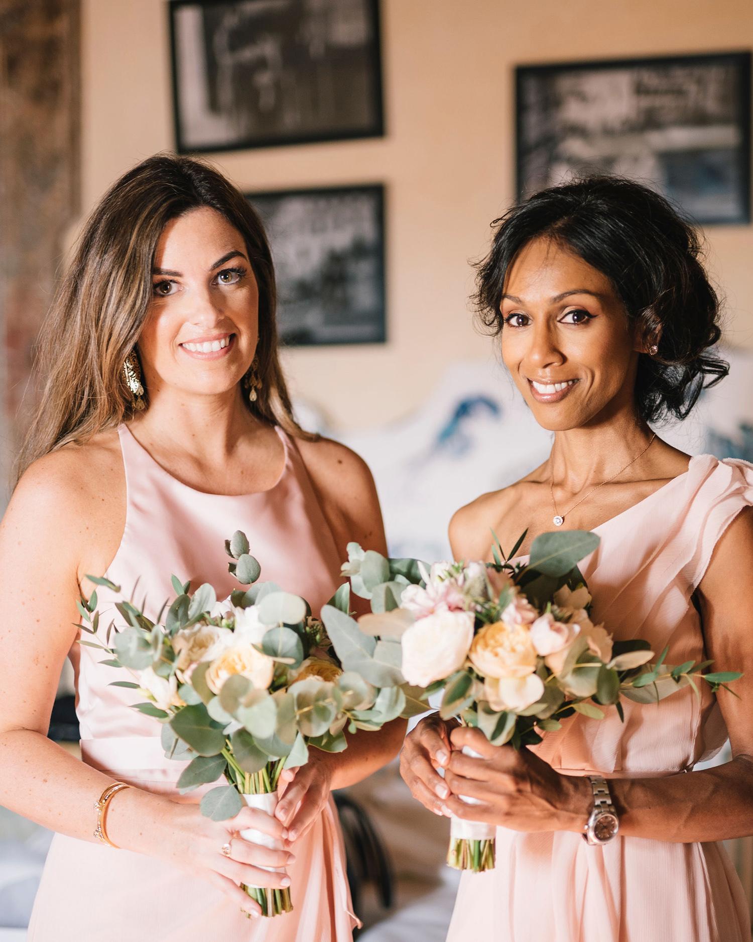 cara david wedding bridesmaids