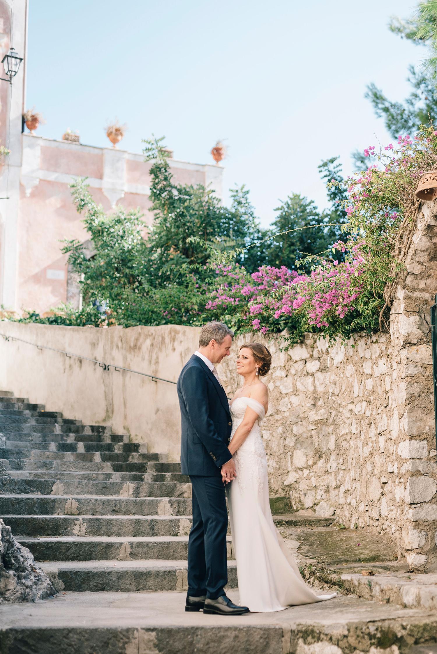 cara david wedding first look