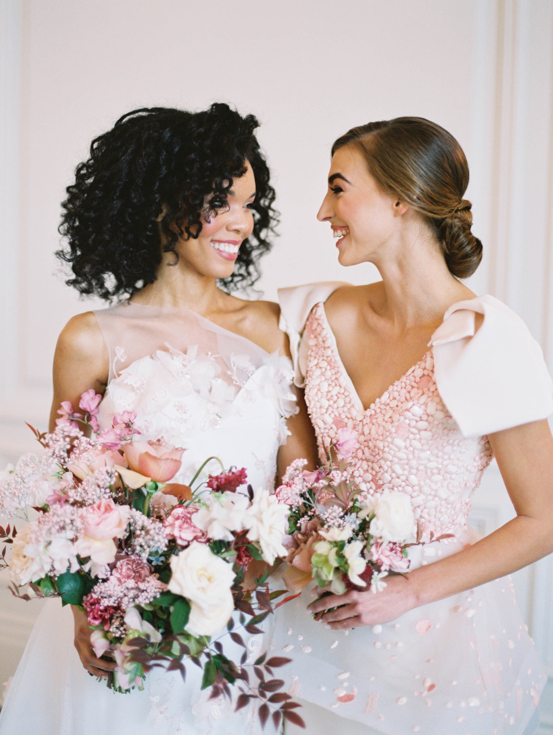 maid of honor hairstyles bride and maid of honor