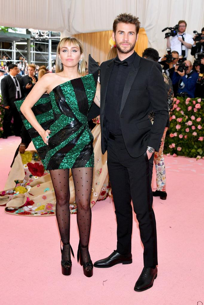 Miley Cyrus and Liam Hemsworth 2019 Met Gala