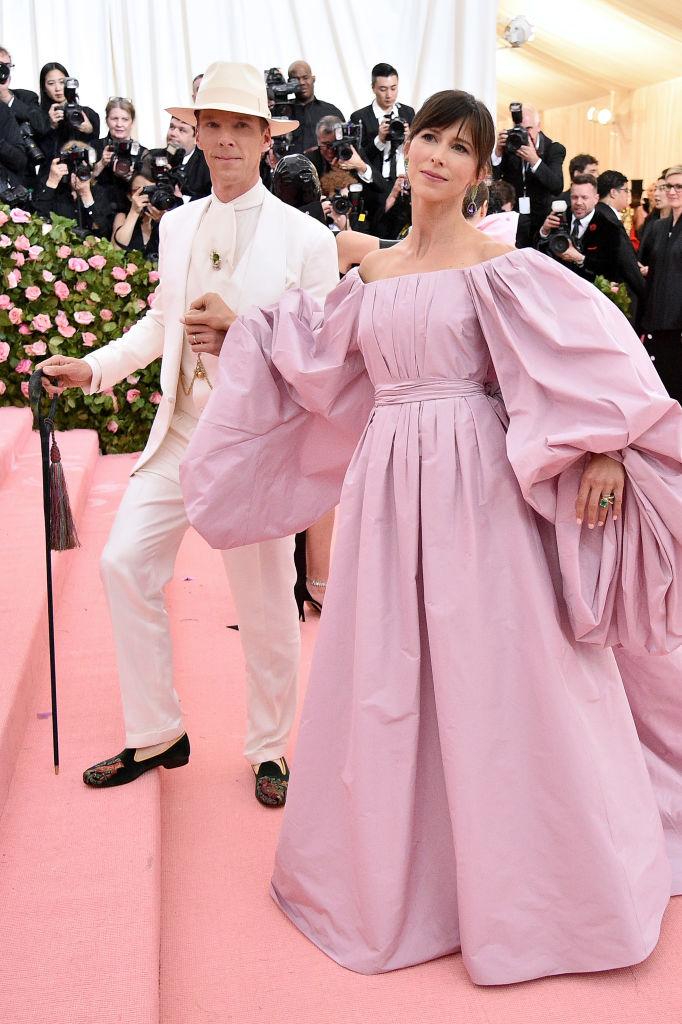 Benedict Cumberbatch and Sophie Hunter 2019 Met Gala