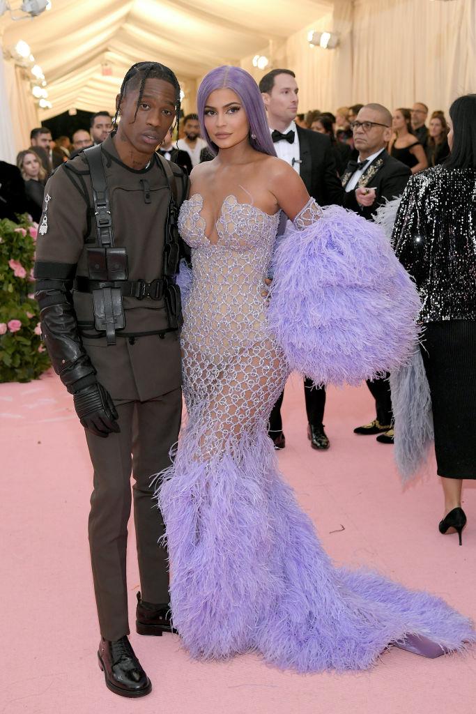 Kylie Jenner and Travis Scott 2019 Met Gala