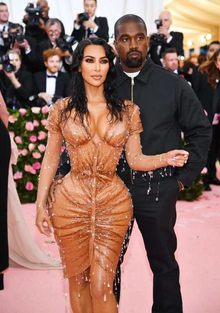 Kim Kardashian and Kanye West 2019 Met Gala