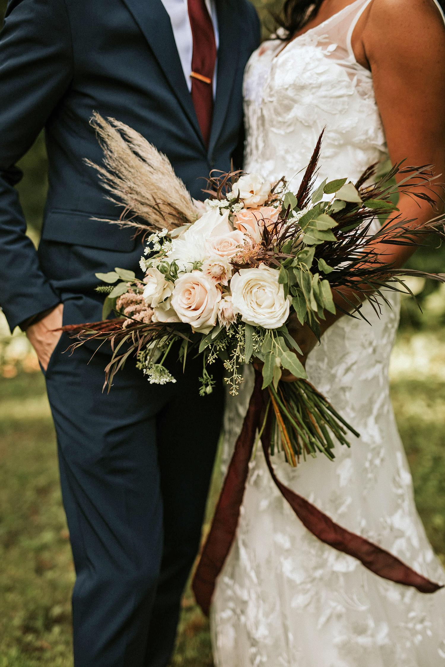 ferbie rob boho wedding bouquet