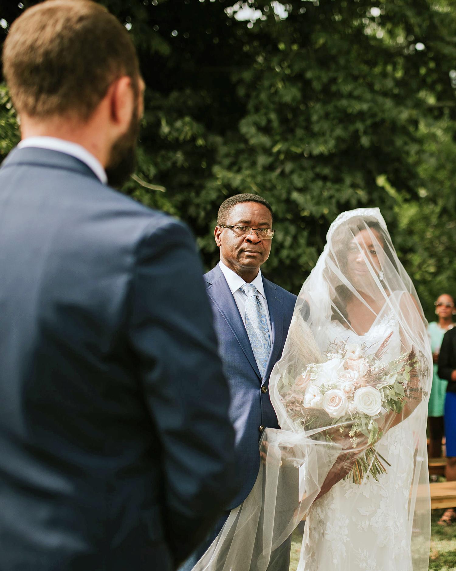 ferbie rob boho wedding father and daughter