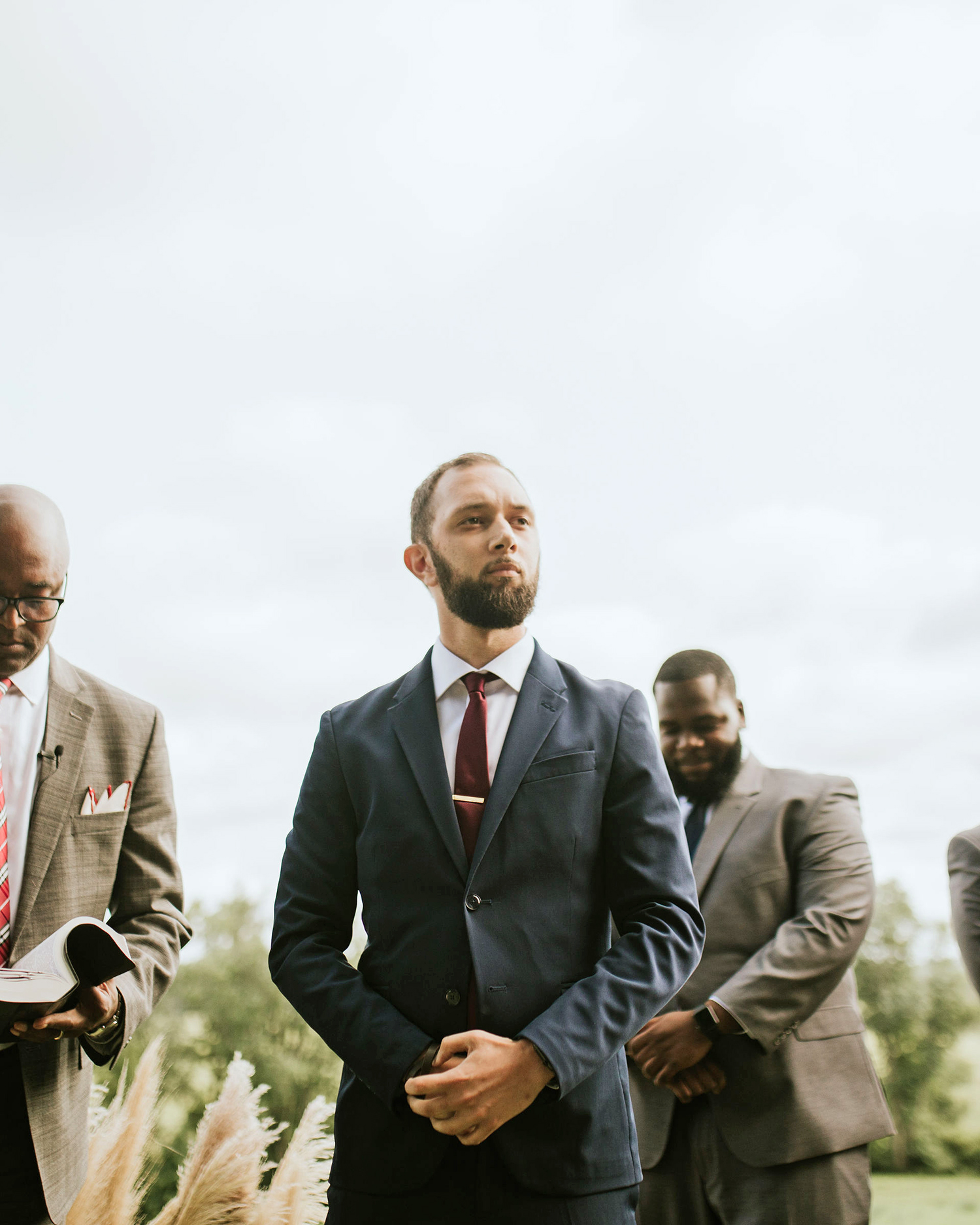 ferbie rob boho wedding groom
