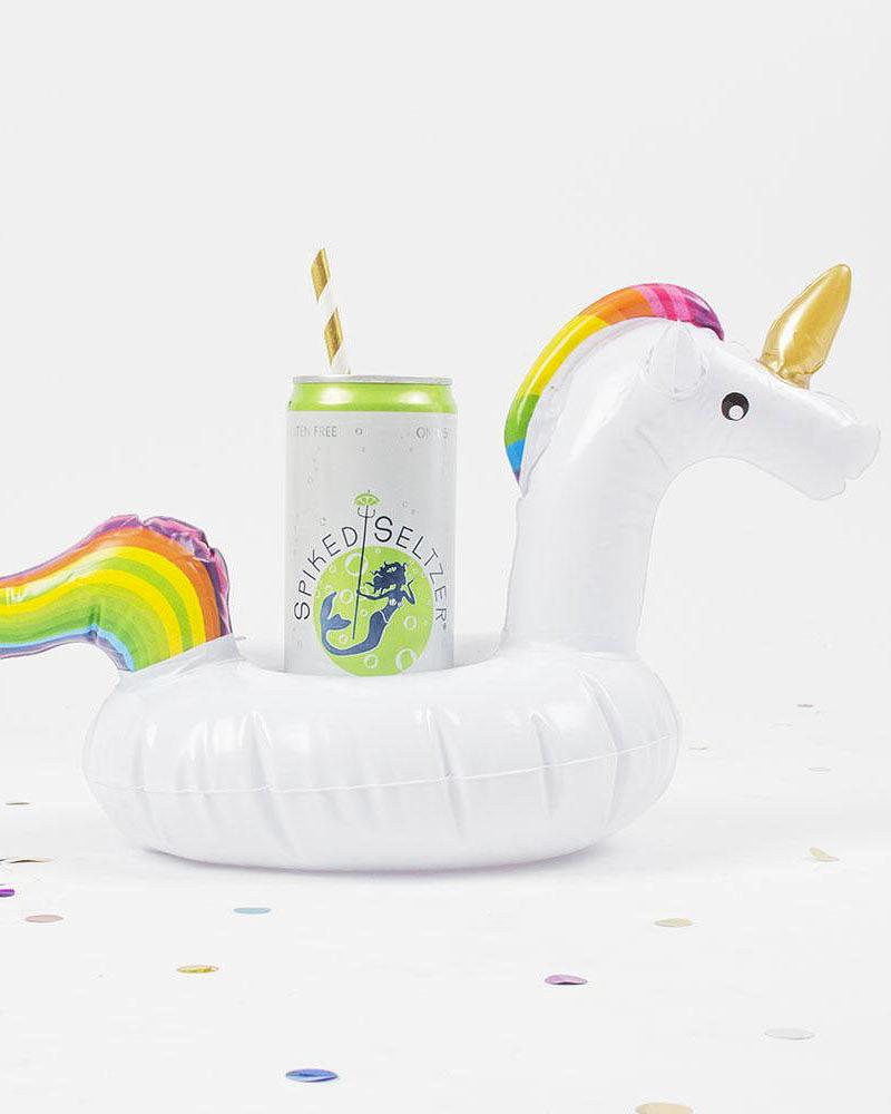 bachelorette party supplies rainbow unicorn drink float