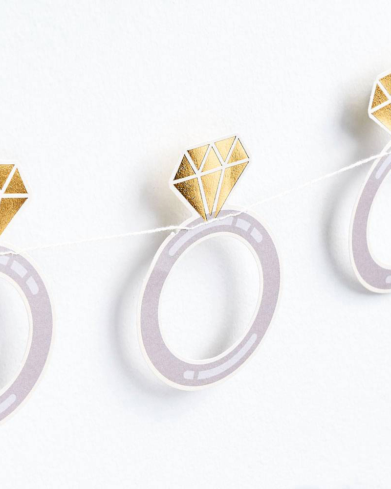 bachelorette party supplies ring banner