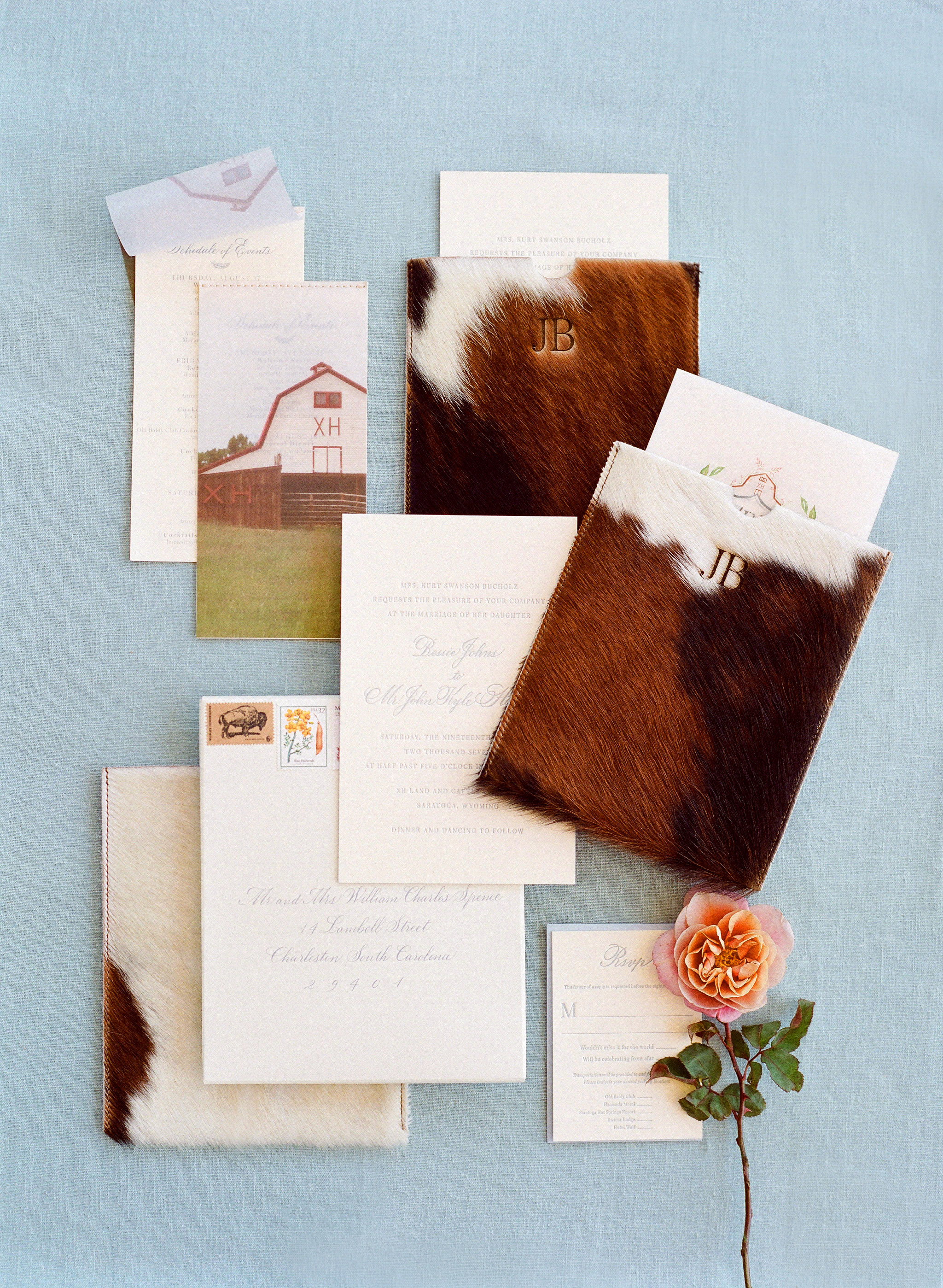 15 Ways to Use Animal Print Throughout Your Wedding