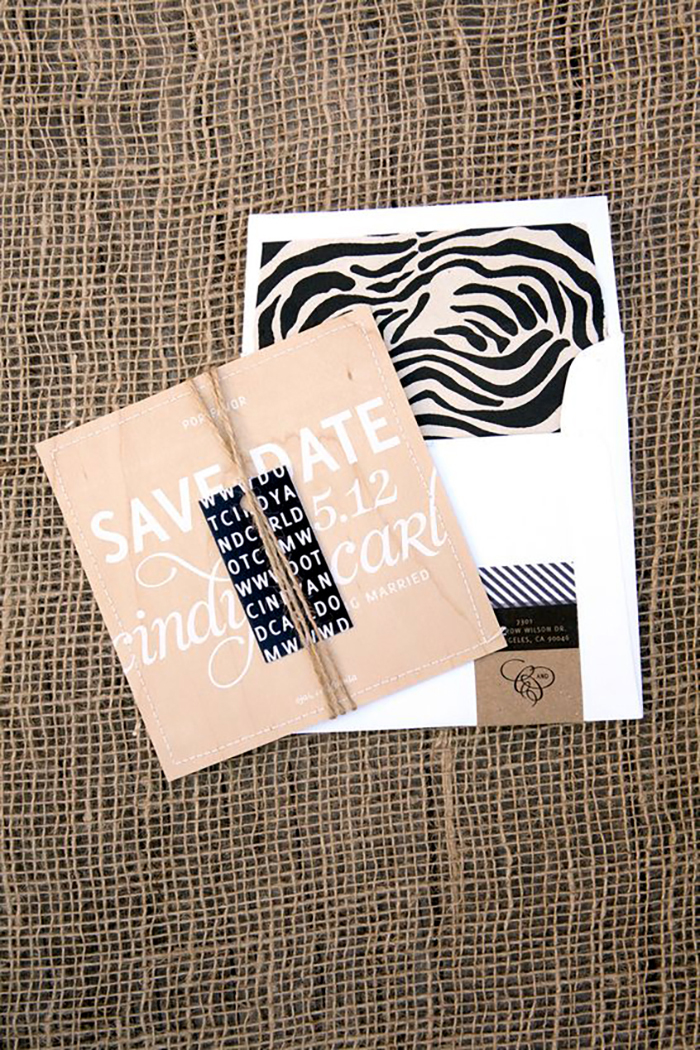 animal print wedding ideas zebra print stationary suite