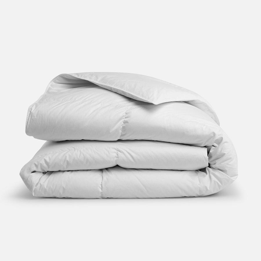 Brooklinen Down Comforter, Registry Upgrades