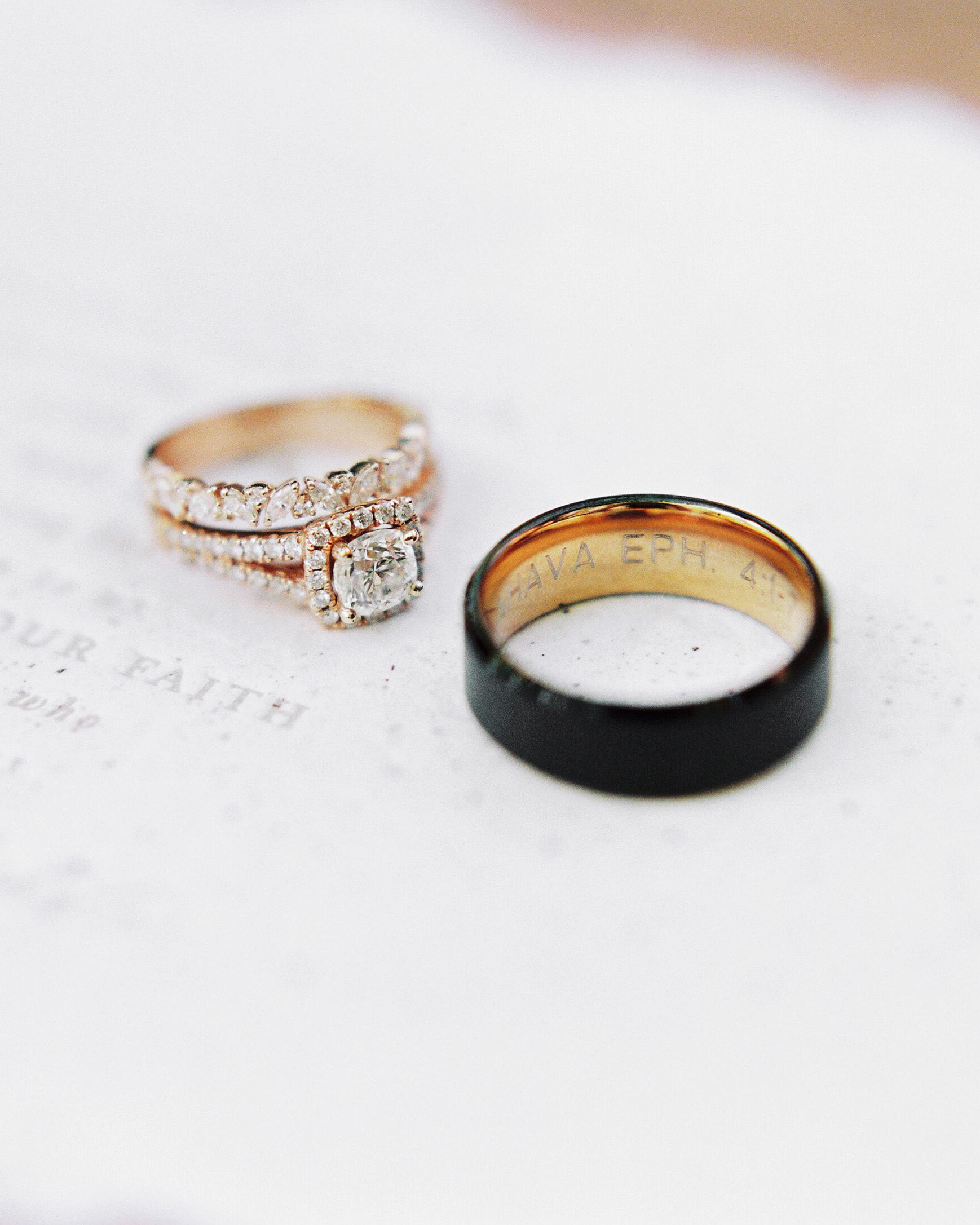 stefanie terrel wedding rings