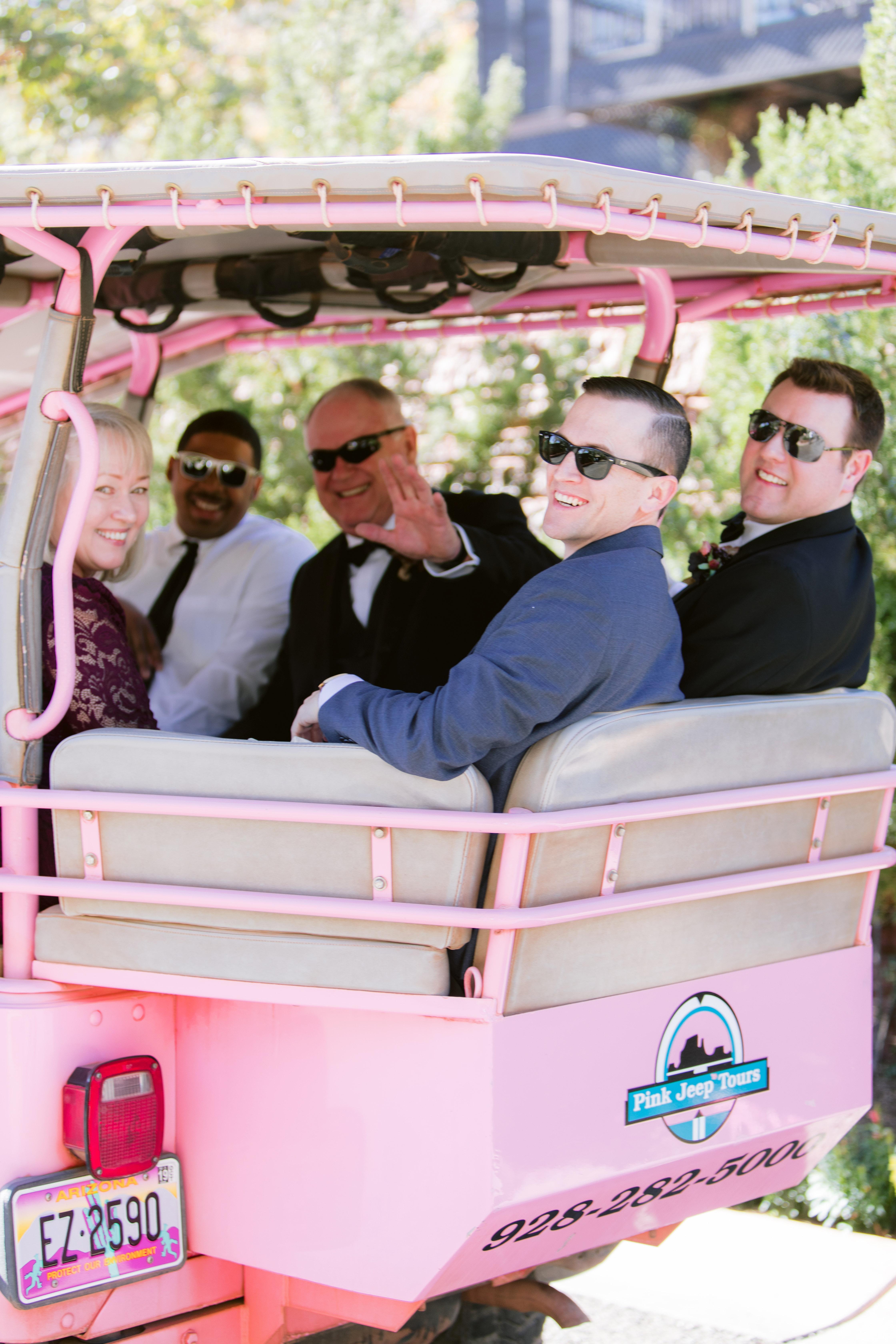stefanie terrel wedding guest transportation