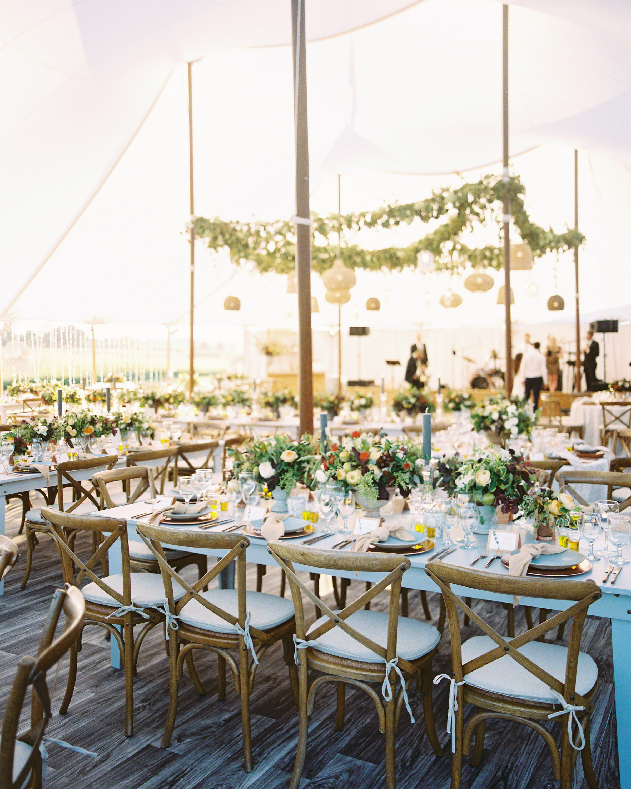 Ideas For Wedding Reception Without Dancing: A Laid-Back Late Summer Wedding On A Virginia Farm