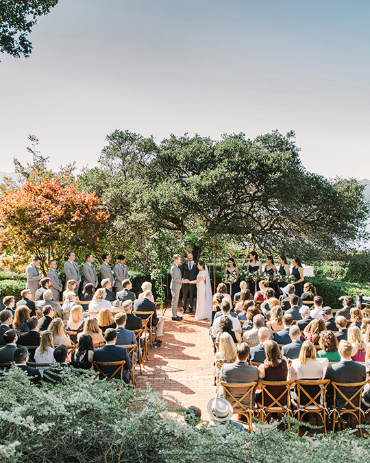Landmarks Art & Garden Center wedding ceremony venue