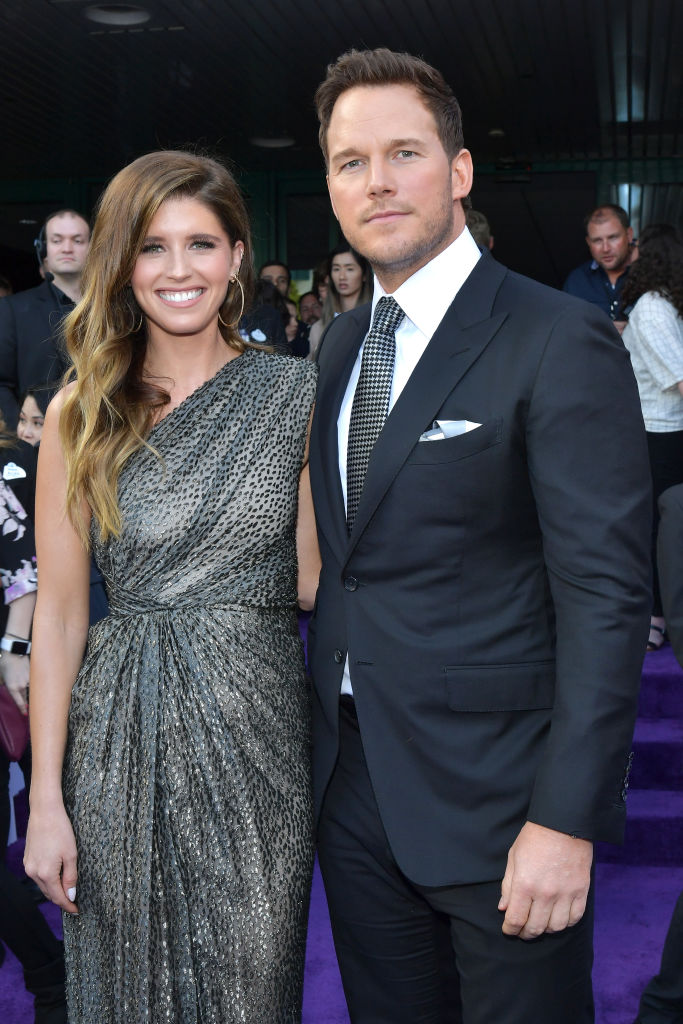 Chris Pratt Jokes He Ate  12 lbs. of Wedding Cake  After Marrying Katherine Schwarzenegger