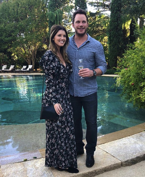 Katherine Schwarzenegger Wore a Custom Armani Dress for Her Wedding to Chris Pratt