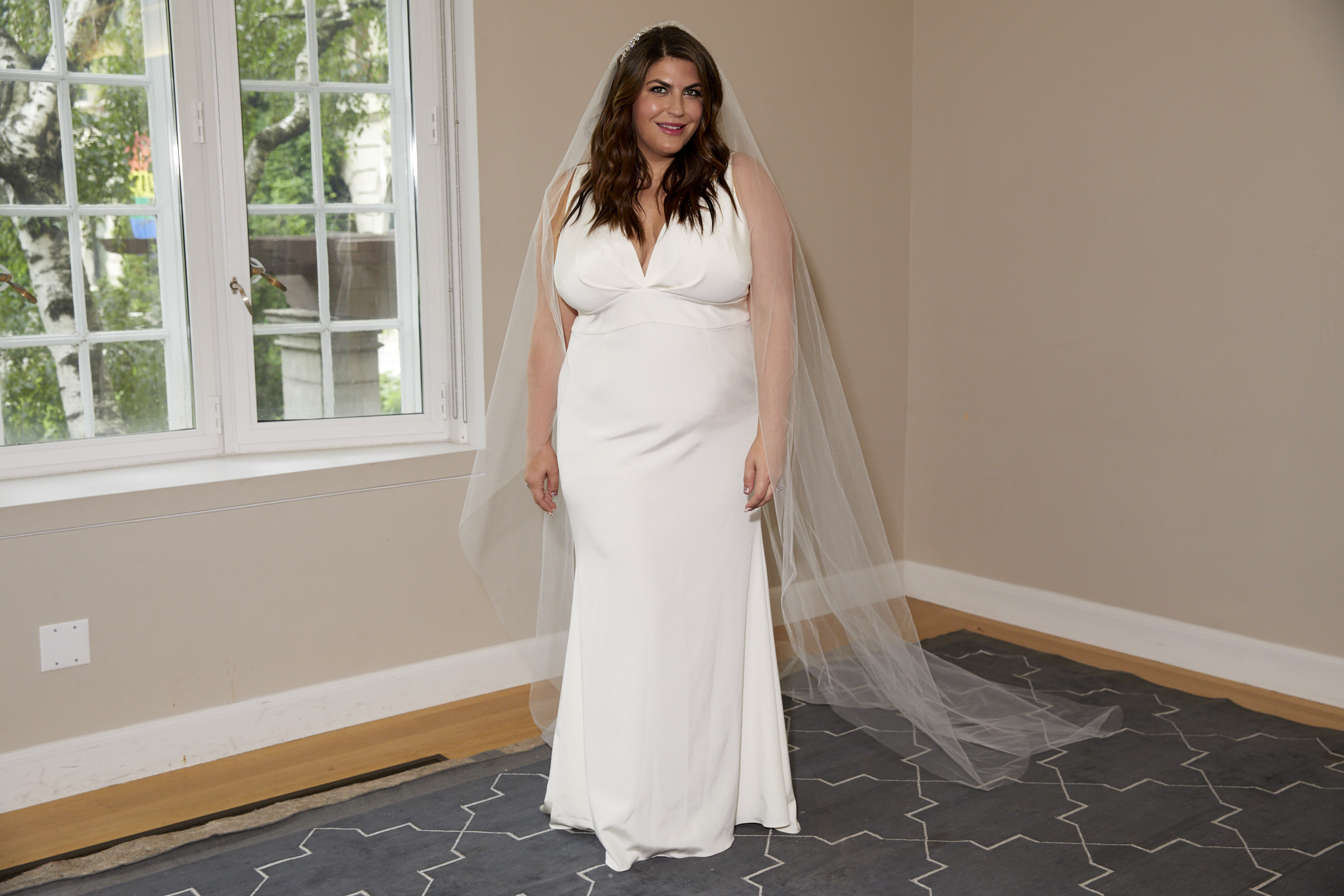 The 12ish Style's Katie Sturino's Guide to Designing a Custom Plus-Size Wedding Dress