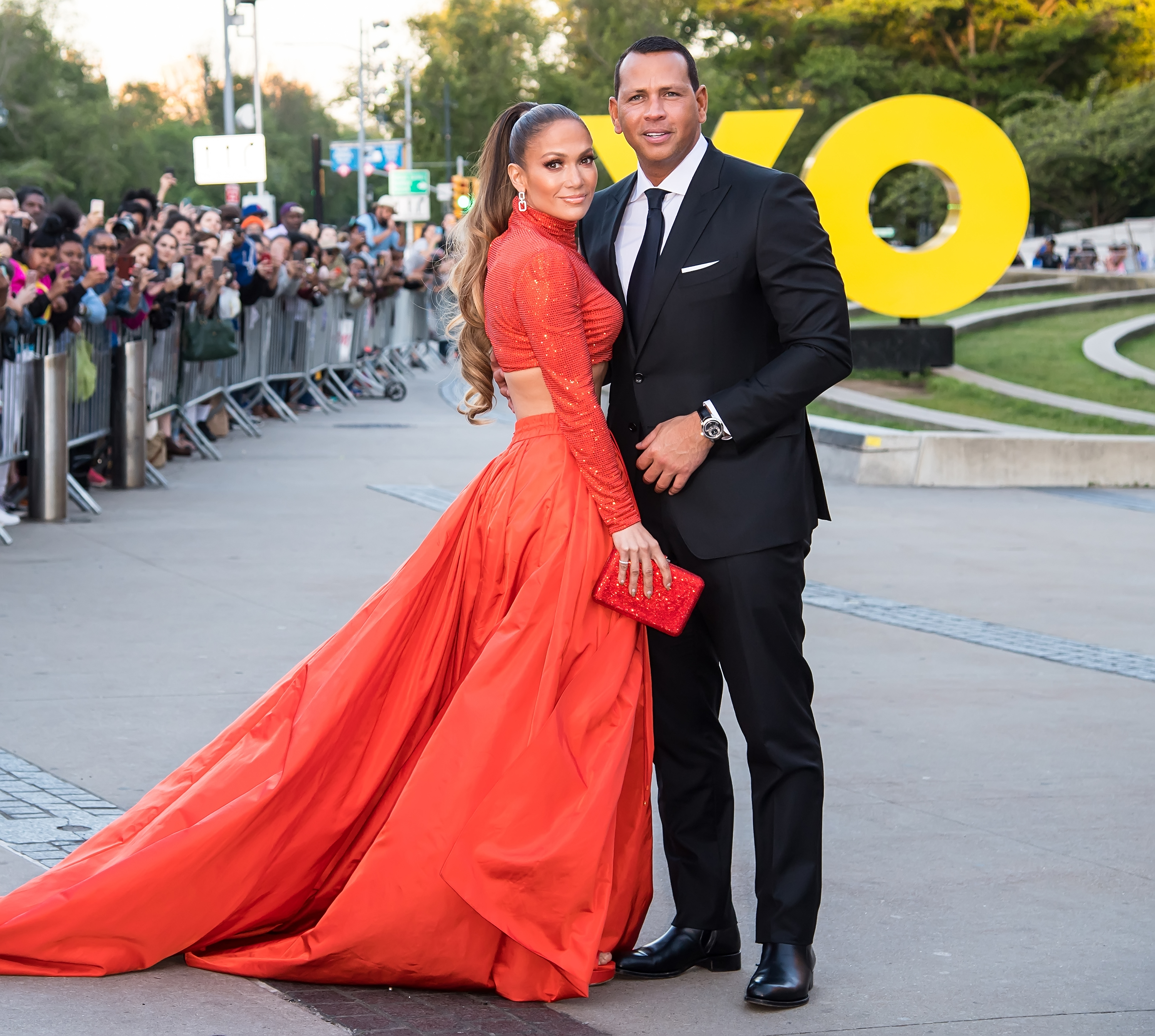 Jennifer Lopez Revealed That She and Alex Rodriguez Want a Big Church Wedding
