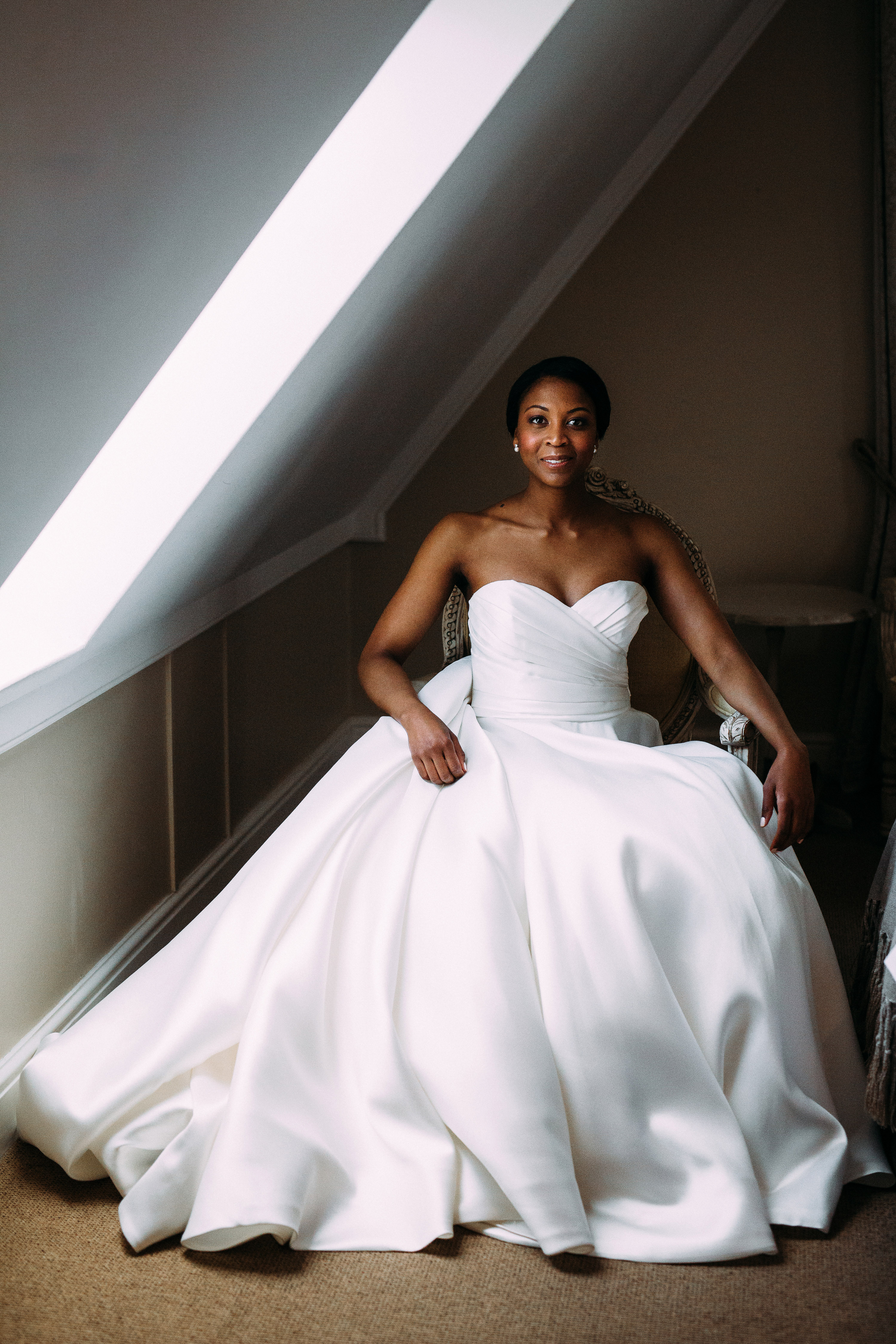 Wearing a Strapless Wedding Dress? Here's How to Make Décolletage Shine on the Big Day
