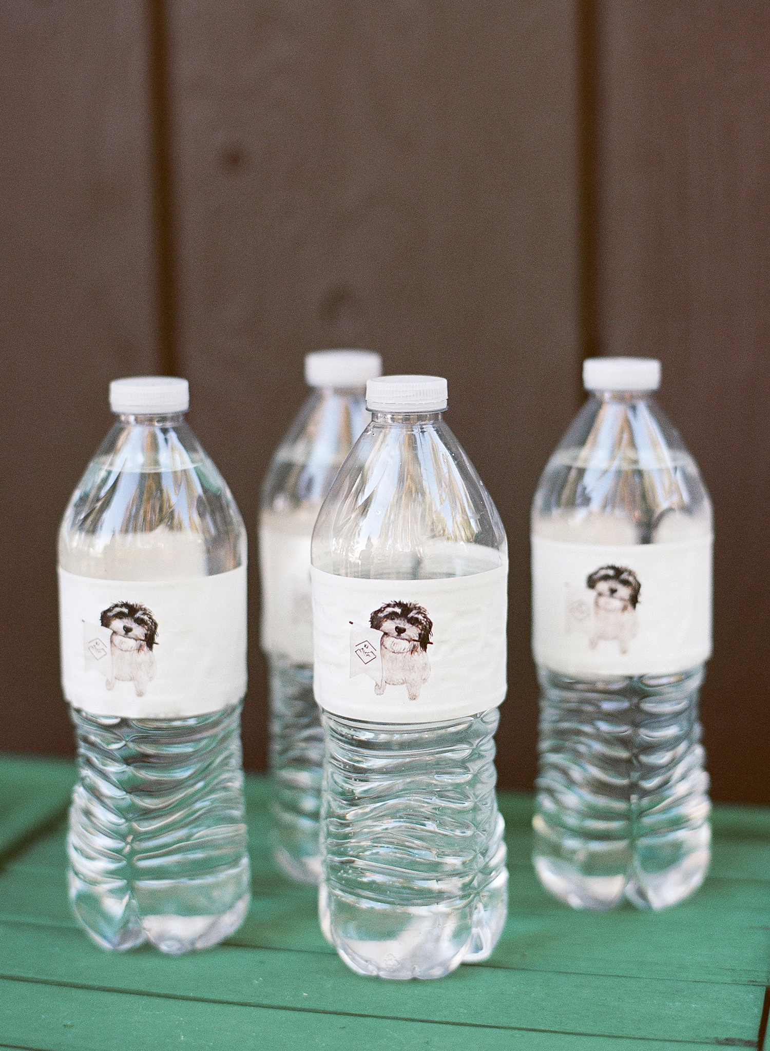 kaitlin jeremy rehearsal dinner personalized water bottles