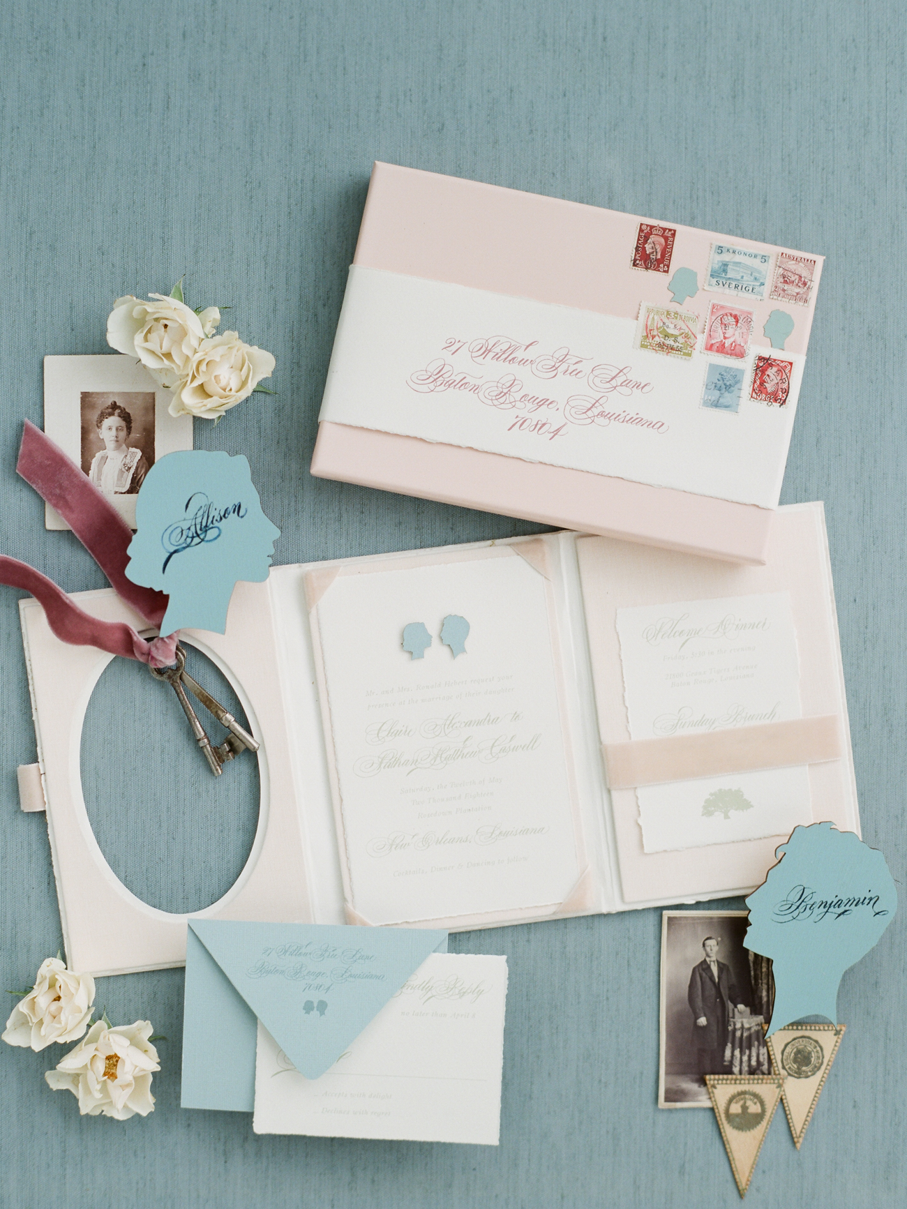 A Trend We're Loving: Booklet Wedding Invitations