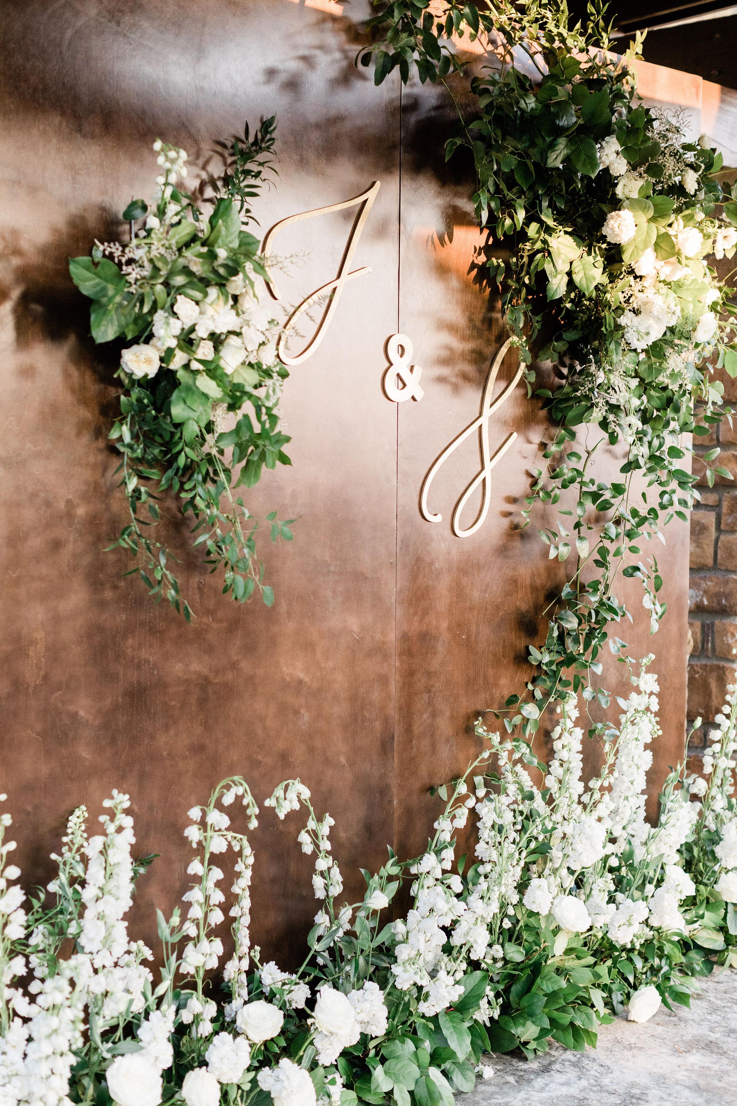 susie joe wedding monogram