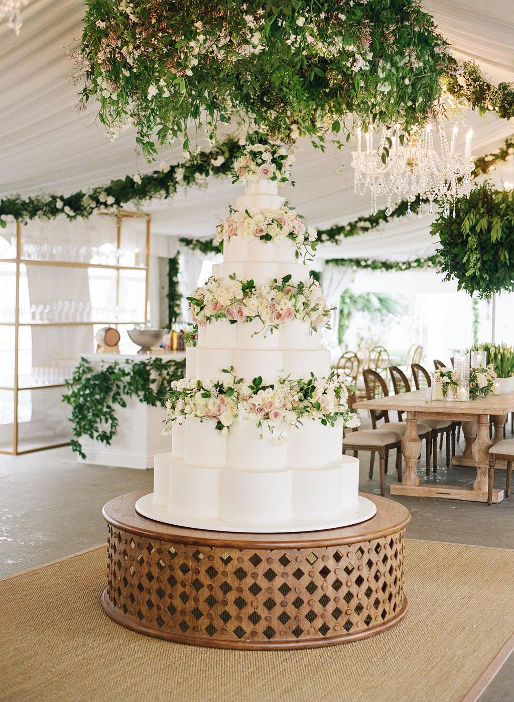 haylie bradley wedding louisiana white chocolate chiffon cake